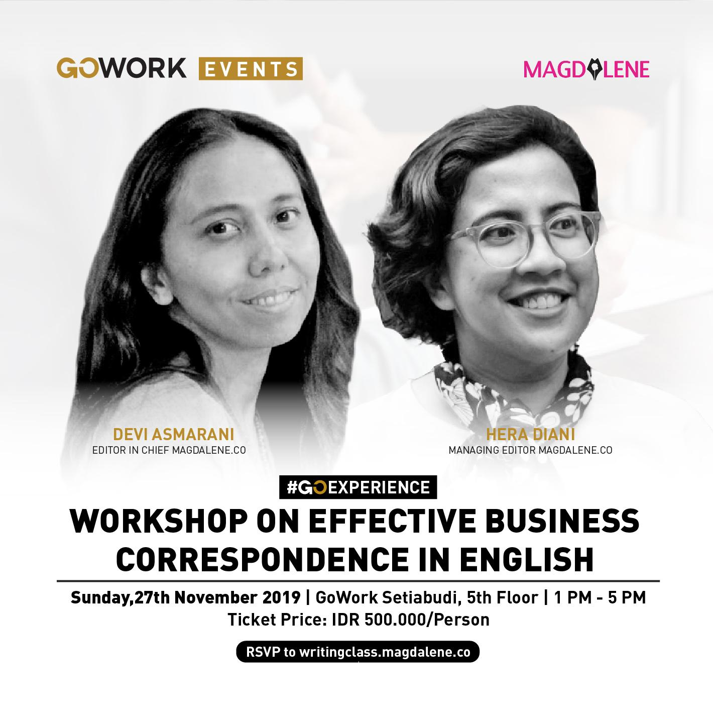 Effective Business Correspondence in English