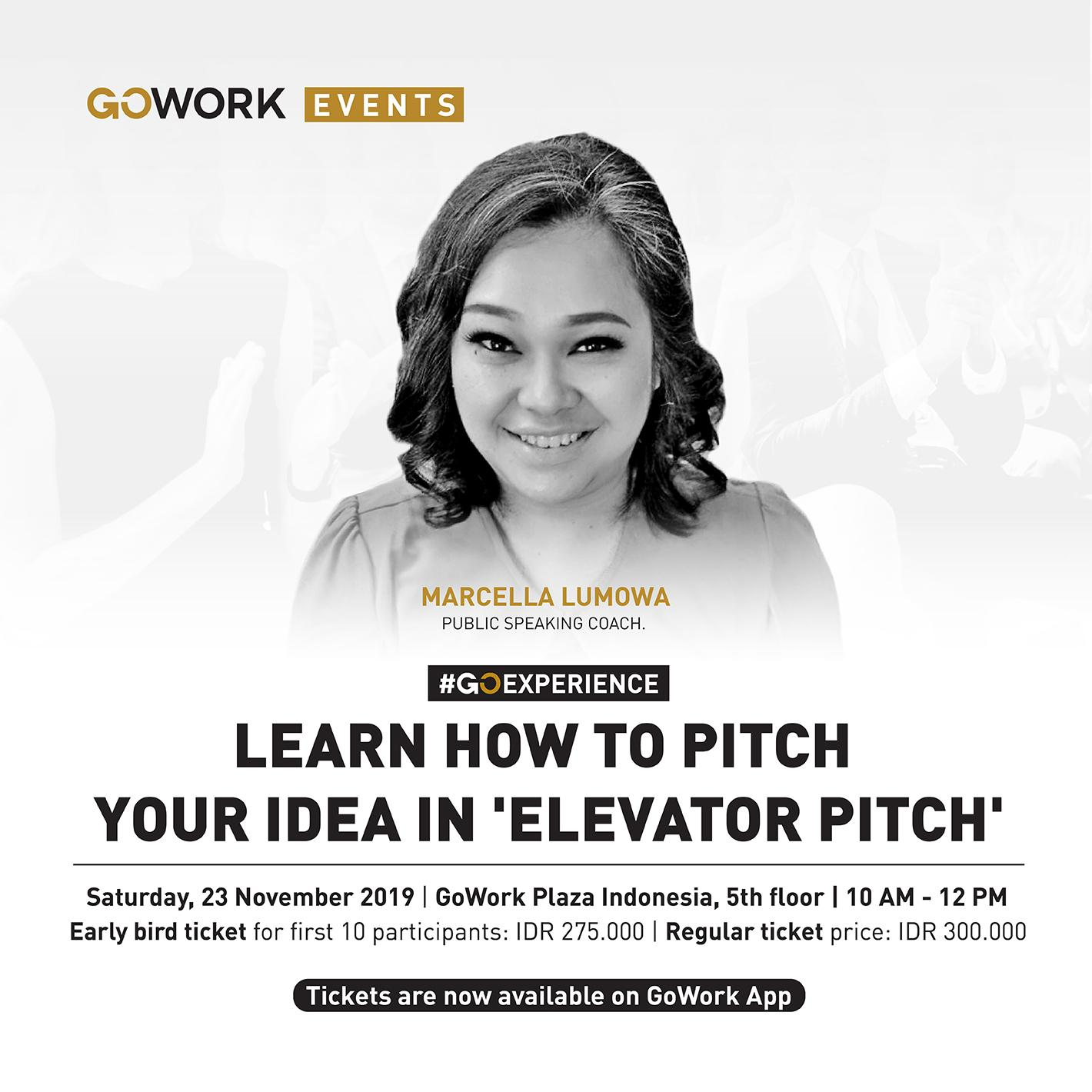 Learn How To Pitch Your Idea In 'Elevator Pitch'