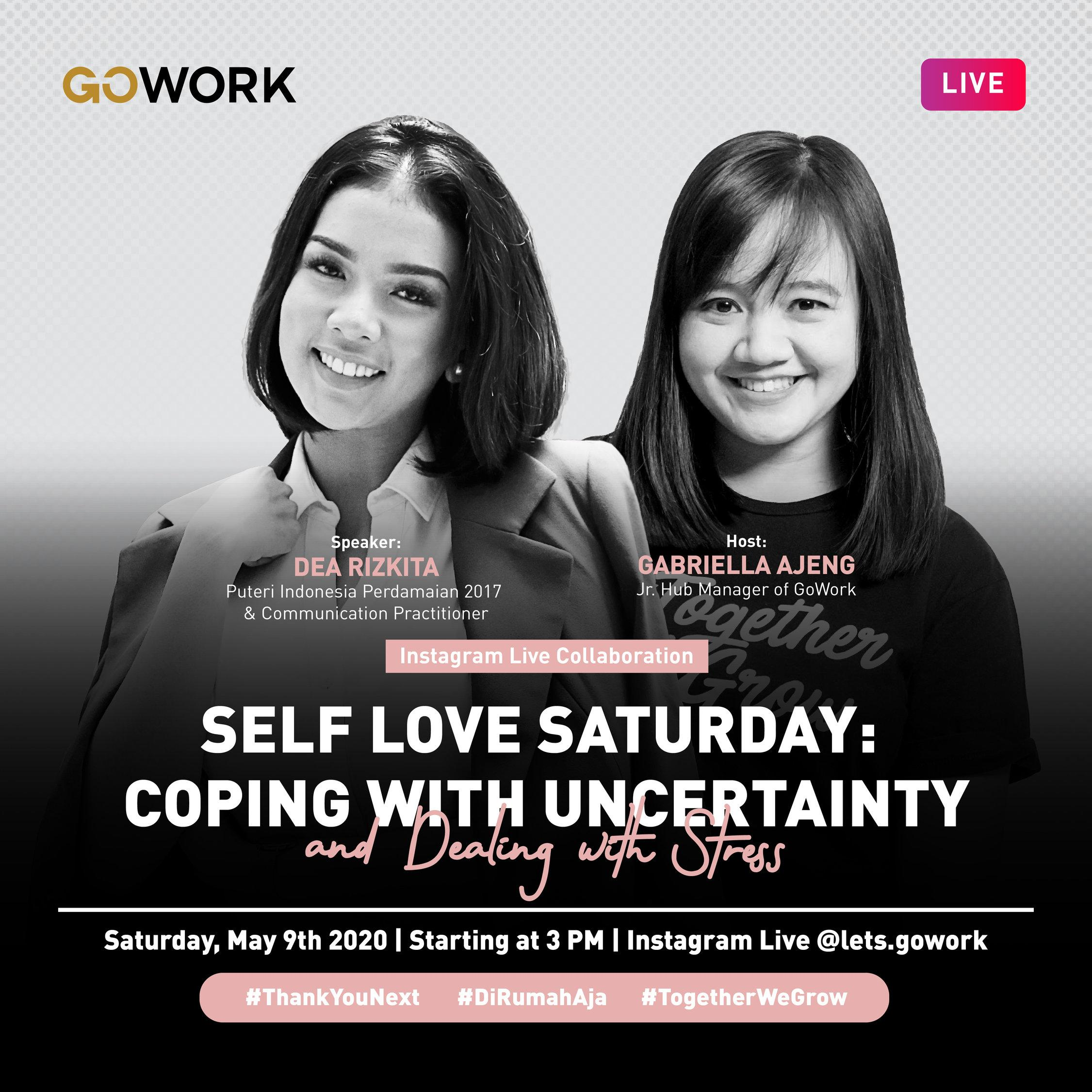 Self Love Saturday: Coping with Uncertainty and Dealing with Stress