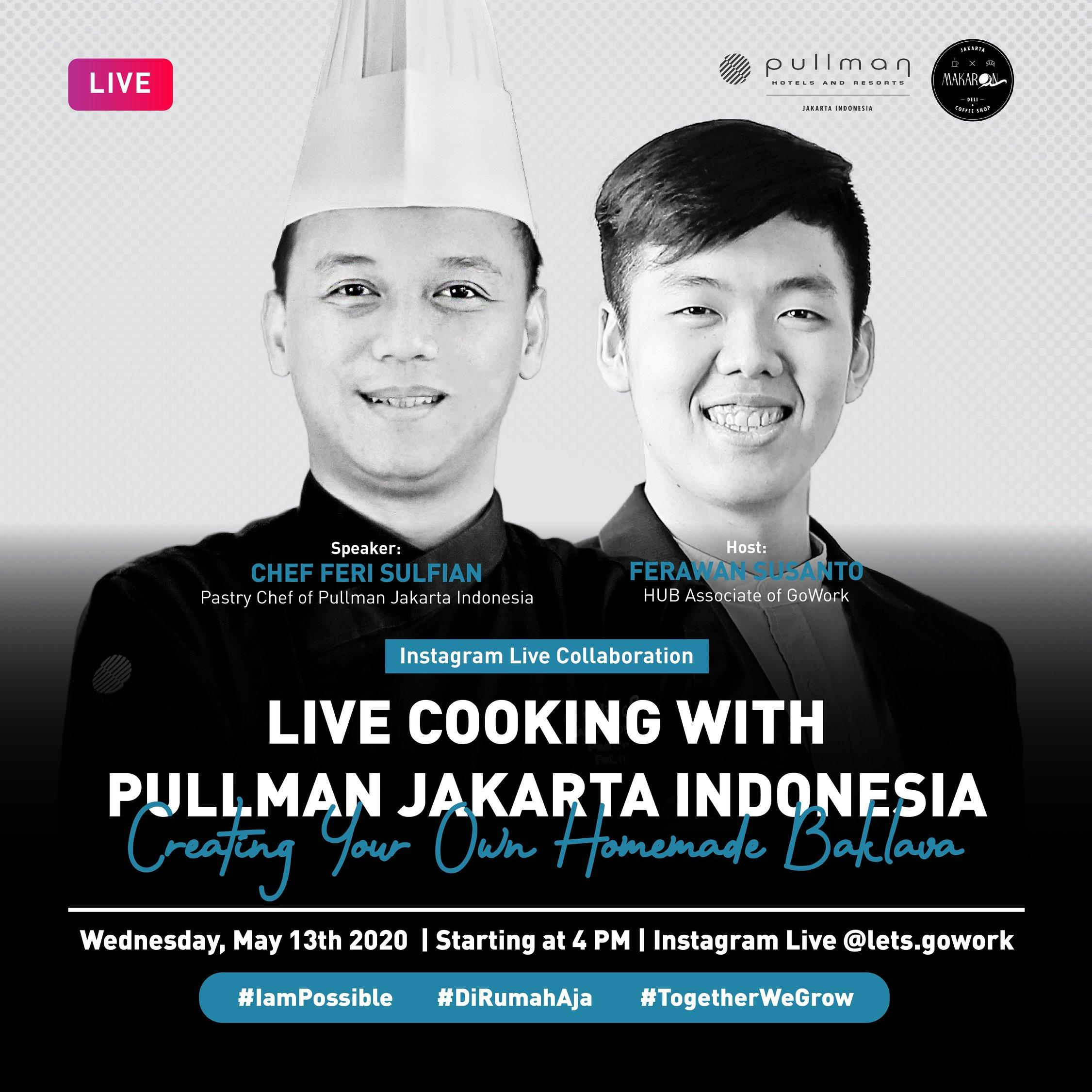 Creating Your Own Homemade Baklava with Pullman Jakarta Indonesia