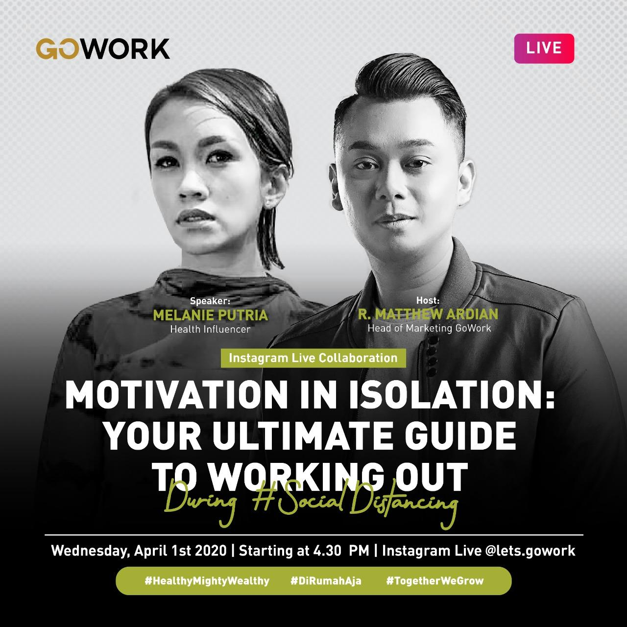 Motivation In Isolation : Your Ultimate Guide To Working Out During Social Distancing