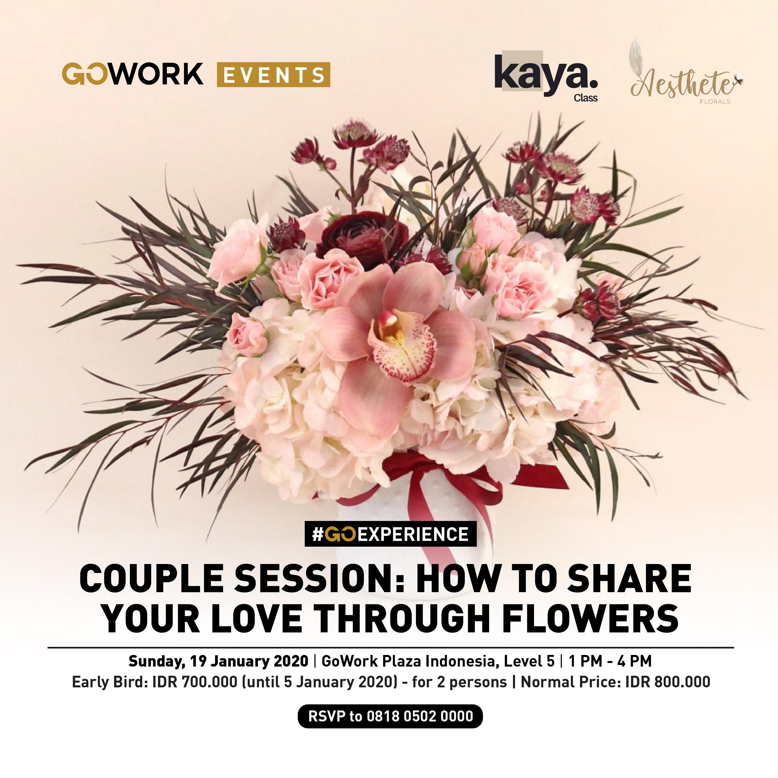 "Couple session - ""How to share your love through Flowers"""