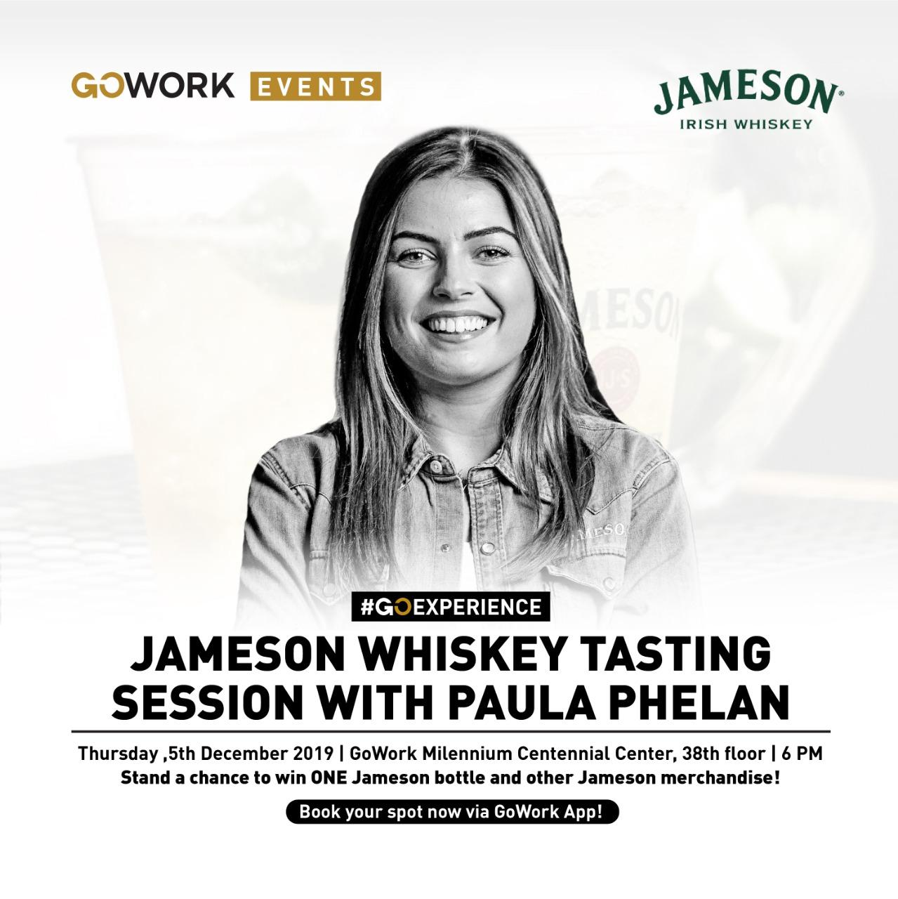 Jameson Whiskey Tasting Session