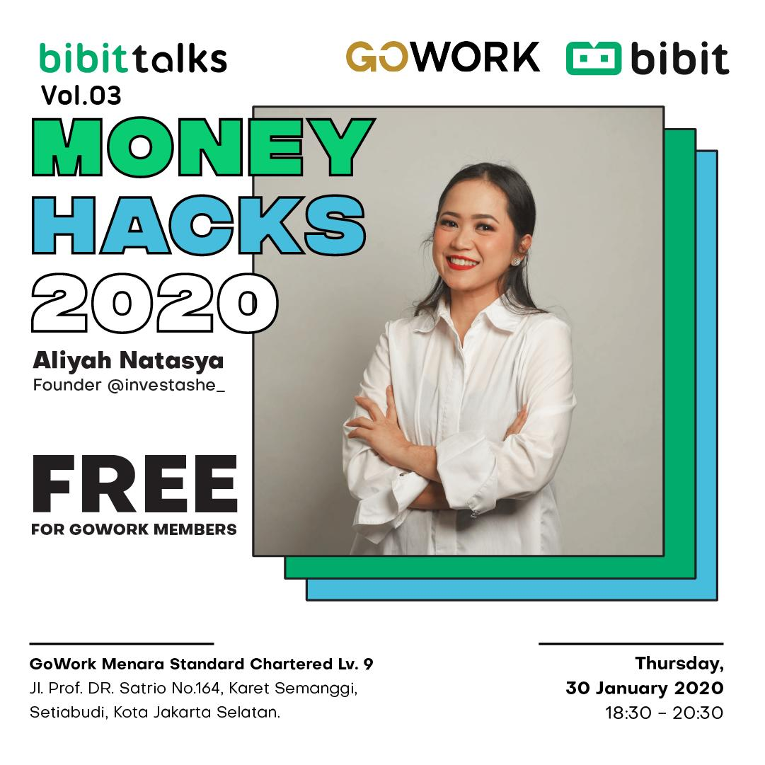 Bibit Talks Vol. 03: Money Hacks 2020