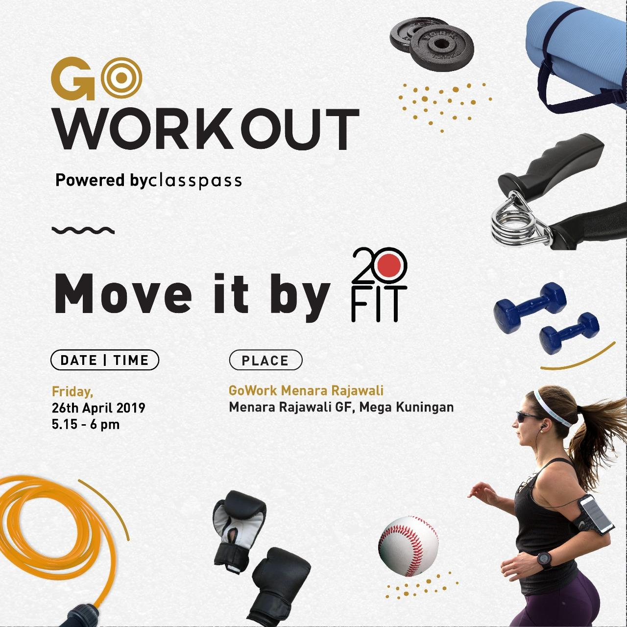 GoWorkOUT - with #moveFIT!