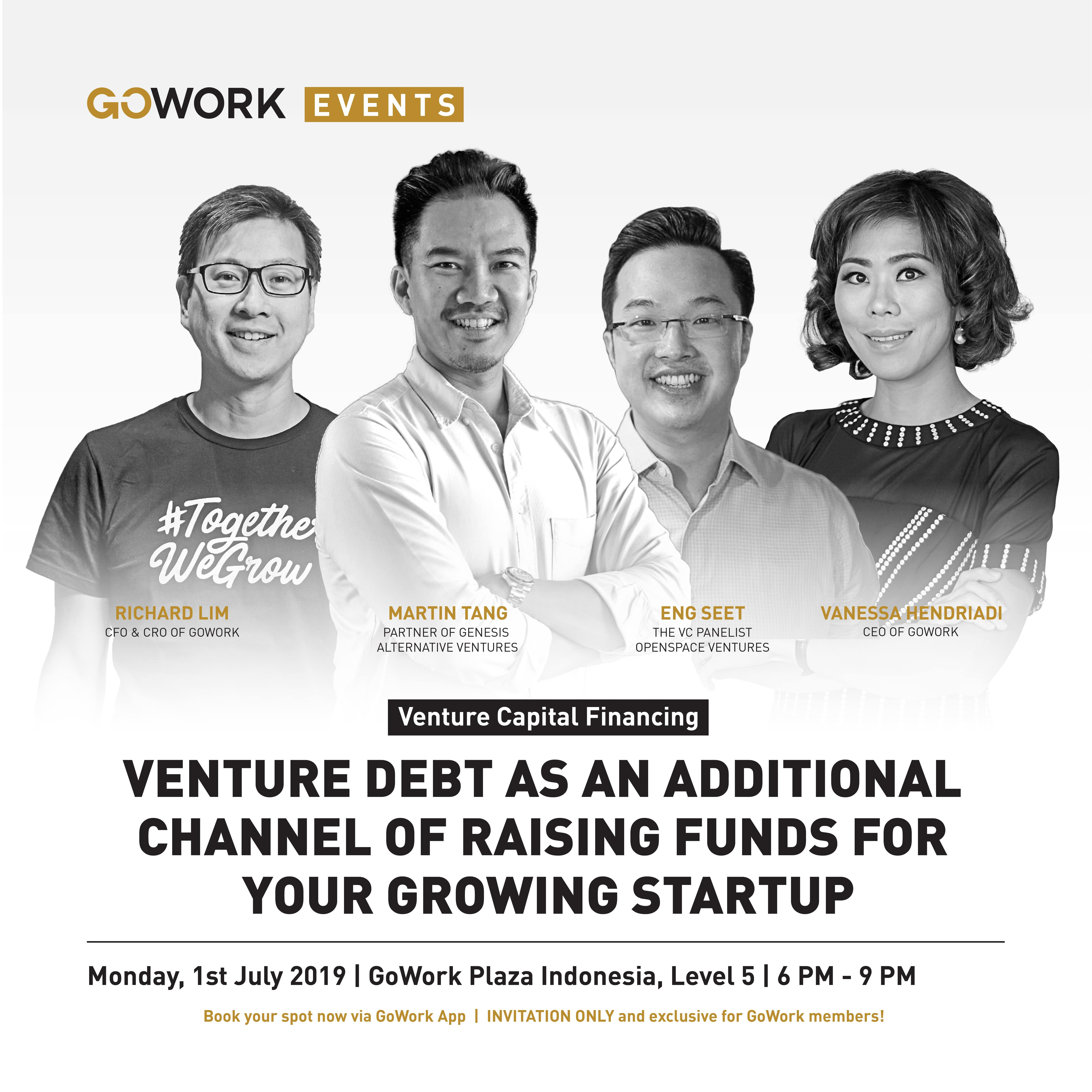 Venture Capital Financing : Venture Debt As An Additional Channel Of Raising Funds For Your Grow Startup