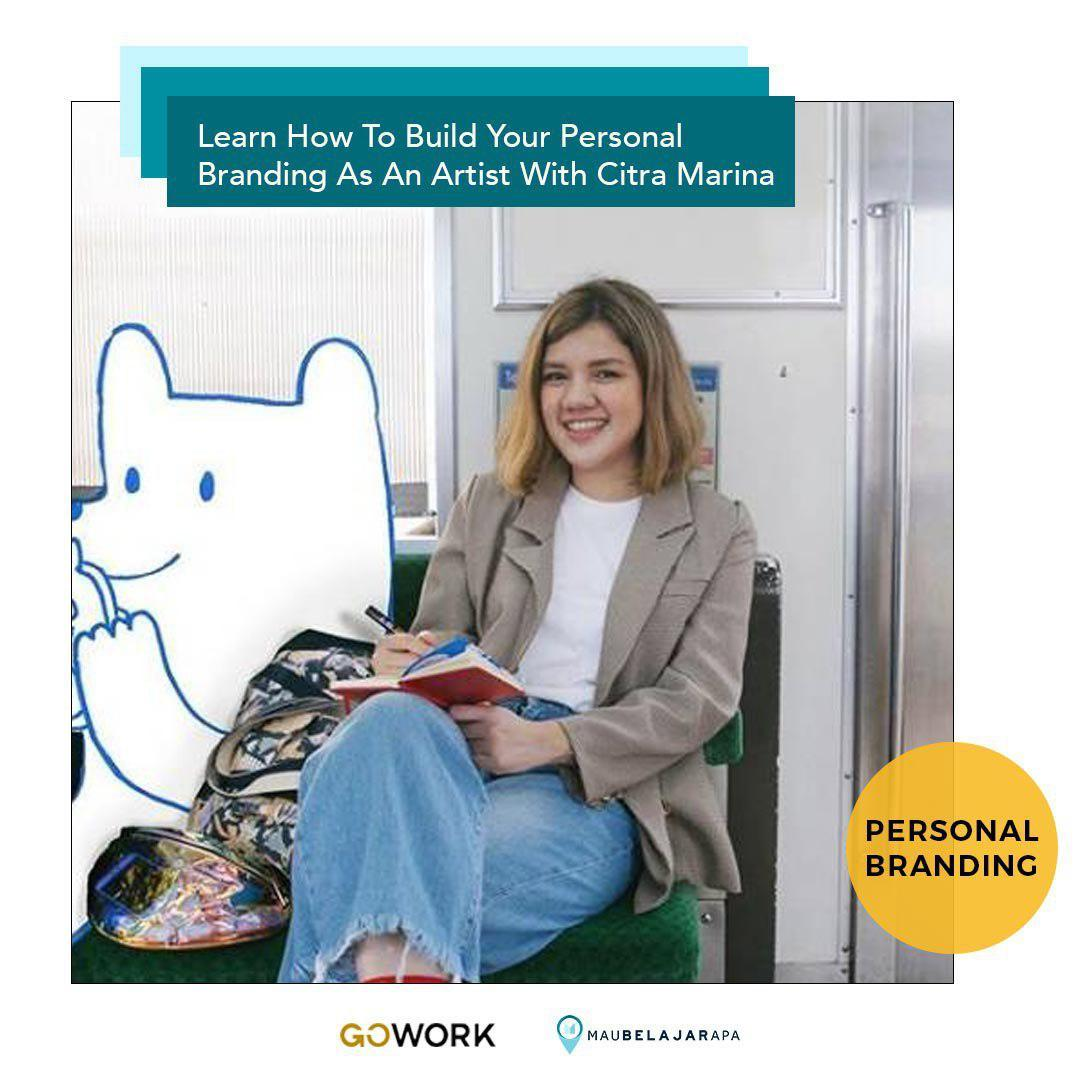 Learn How To Build Your Personal Branding As An Artist With Citra Marina