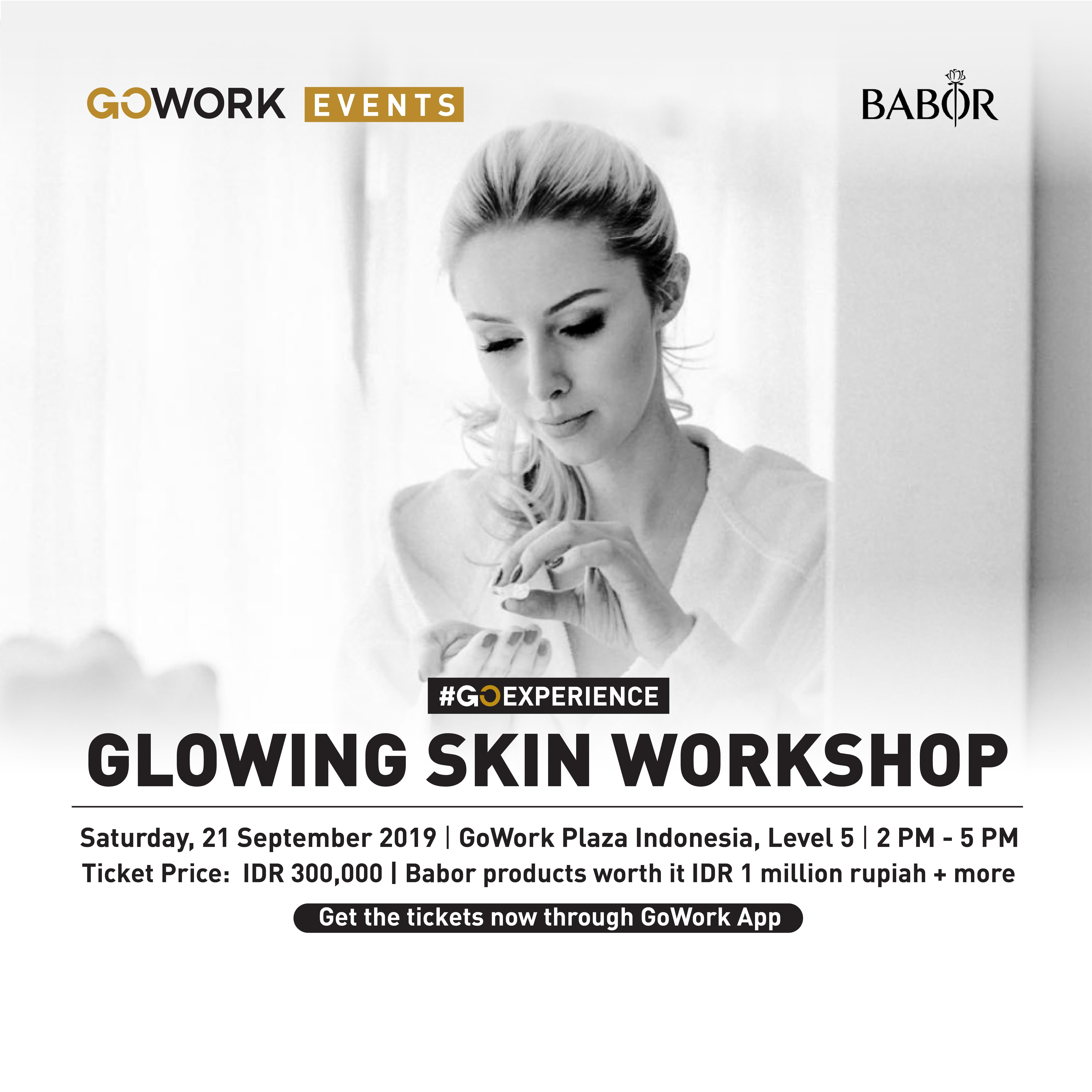Glowing Skin Workshop with Babor Indonesia