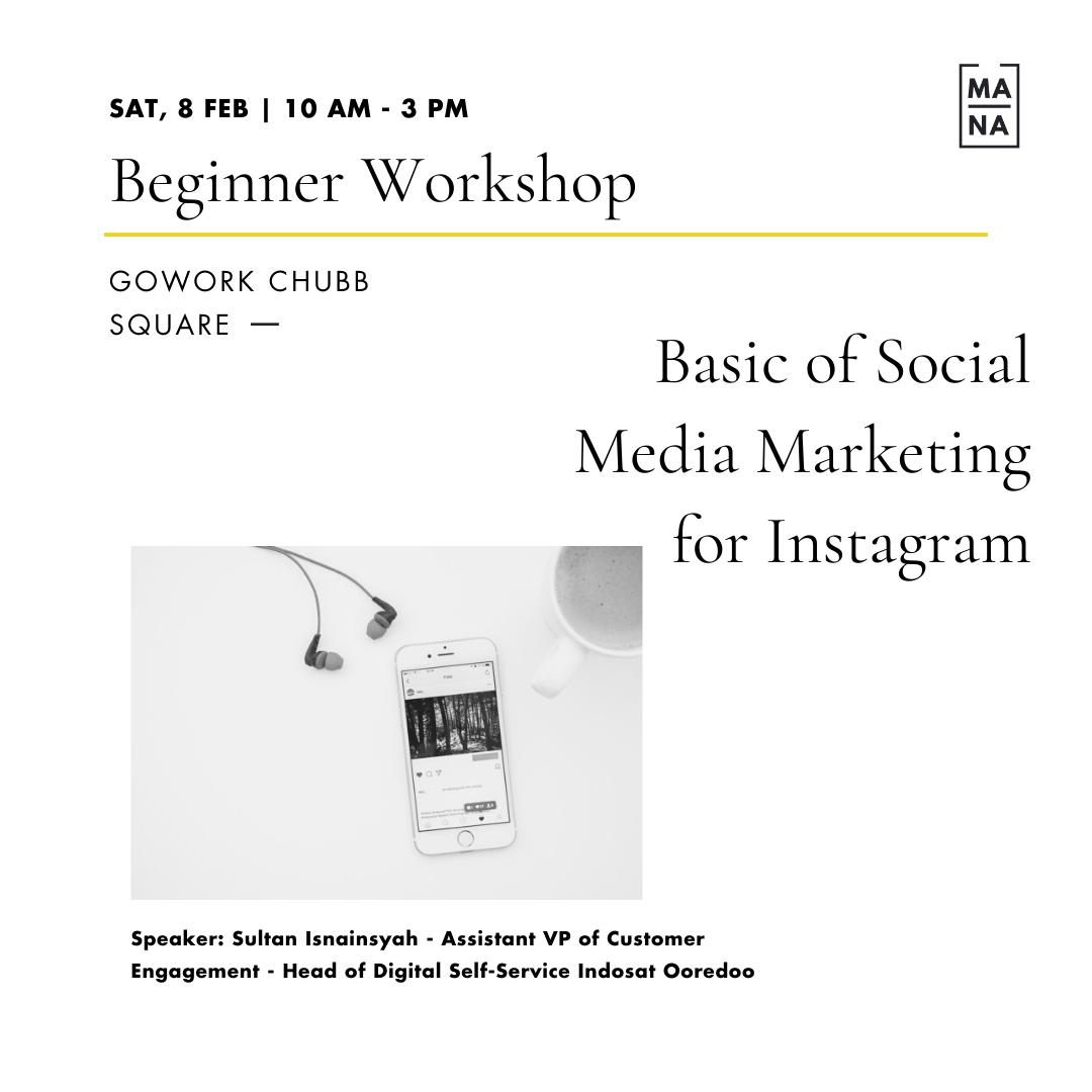 Basic of Social Media Marketing for Instagram