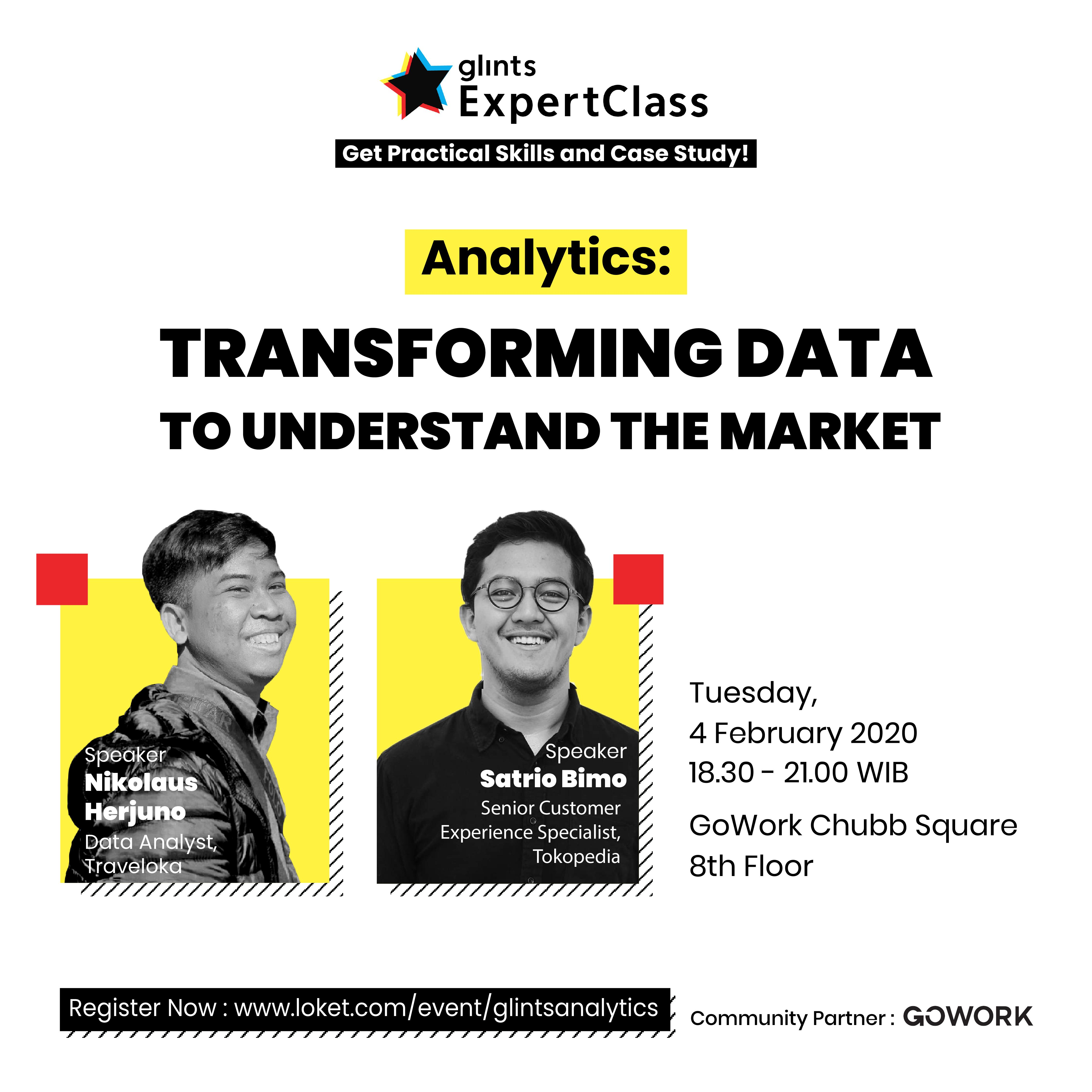 Glints Expert Class - Analytics : Transforming Data To Understand The Market