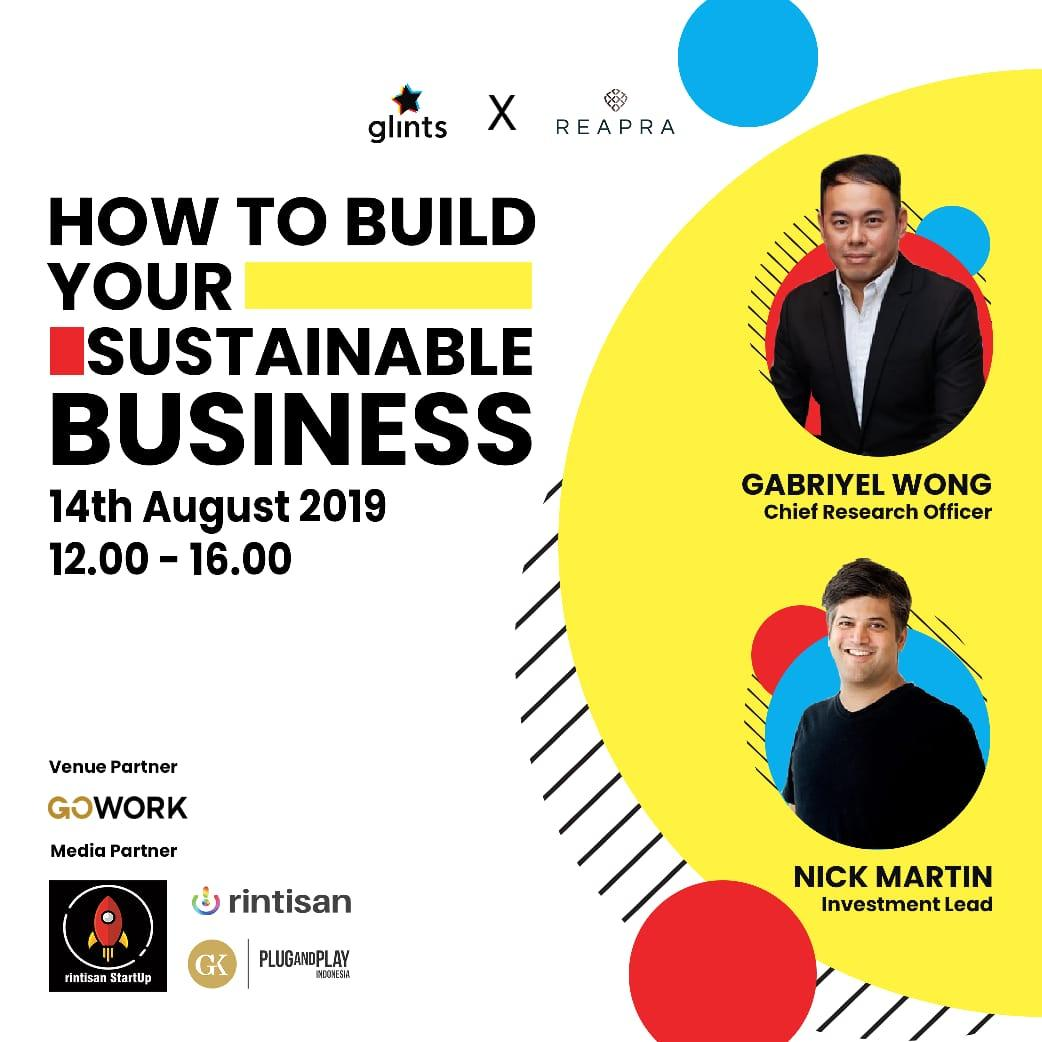 Glints X REAPRA : How To Build Your Sustainable Business