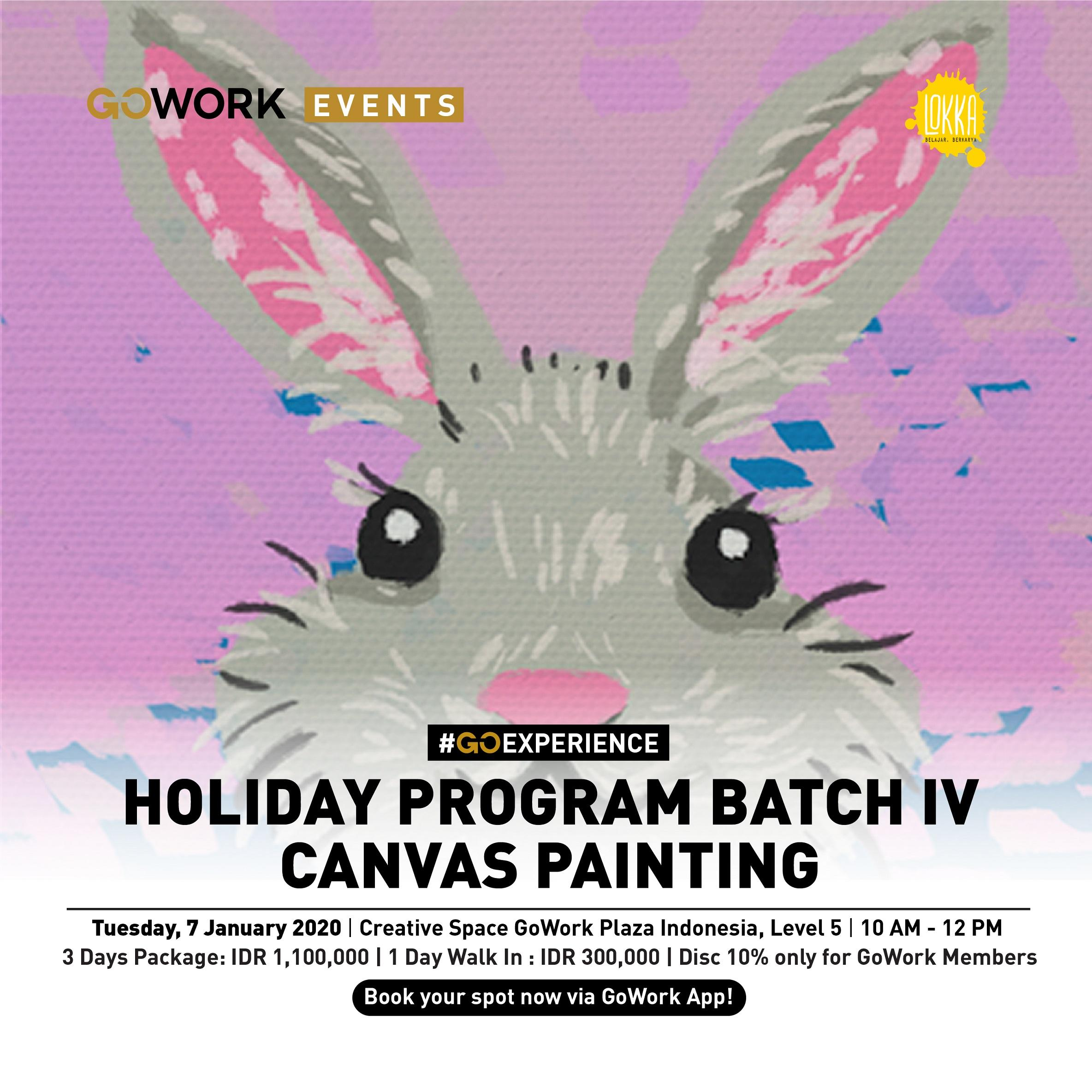 Lokka Holiday Program Batch IV : Canvas Painting