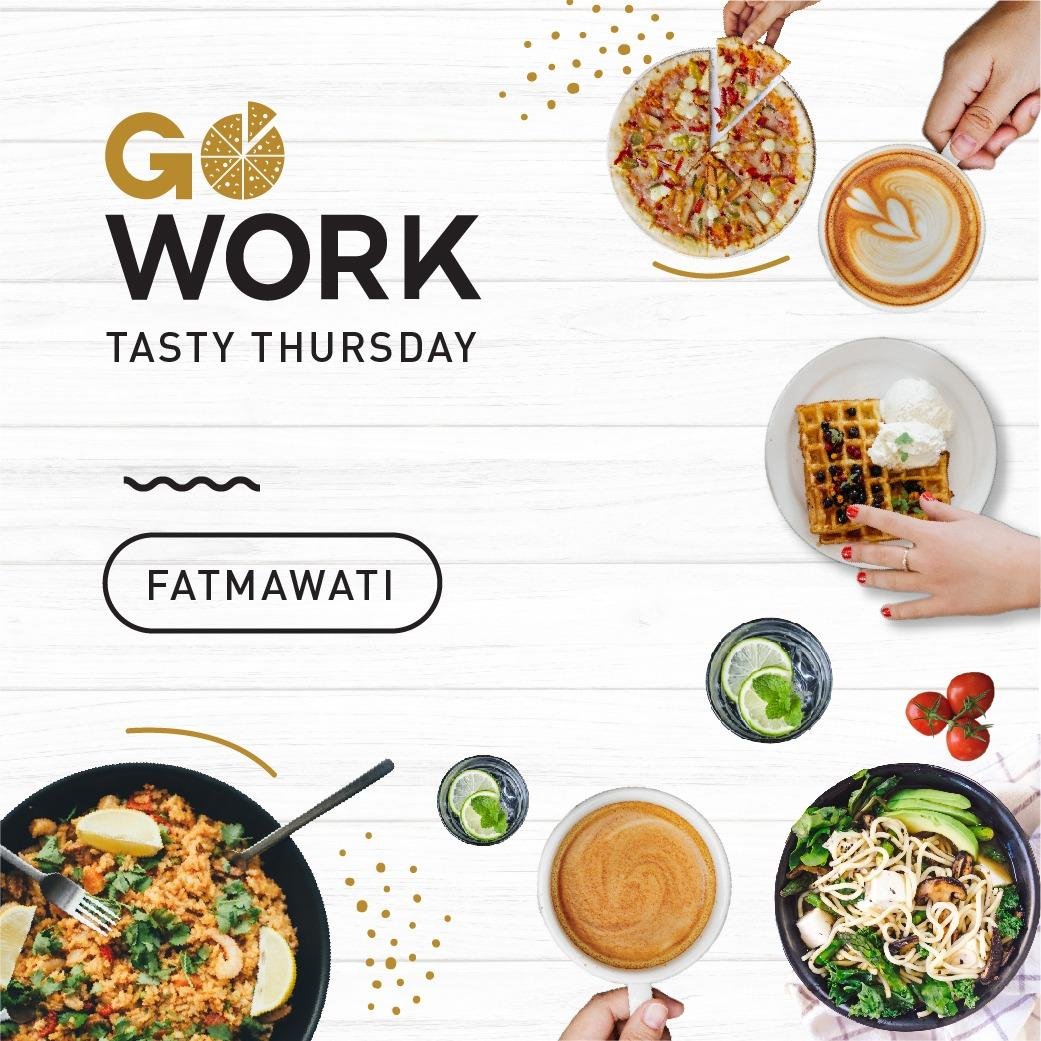 Tasty Thursday at GoWork Fatmawati