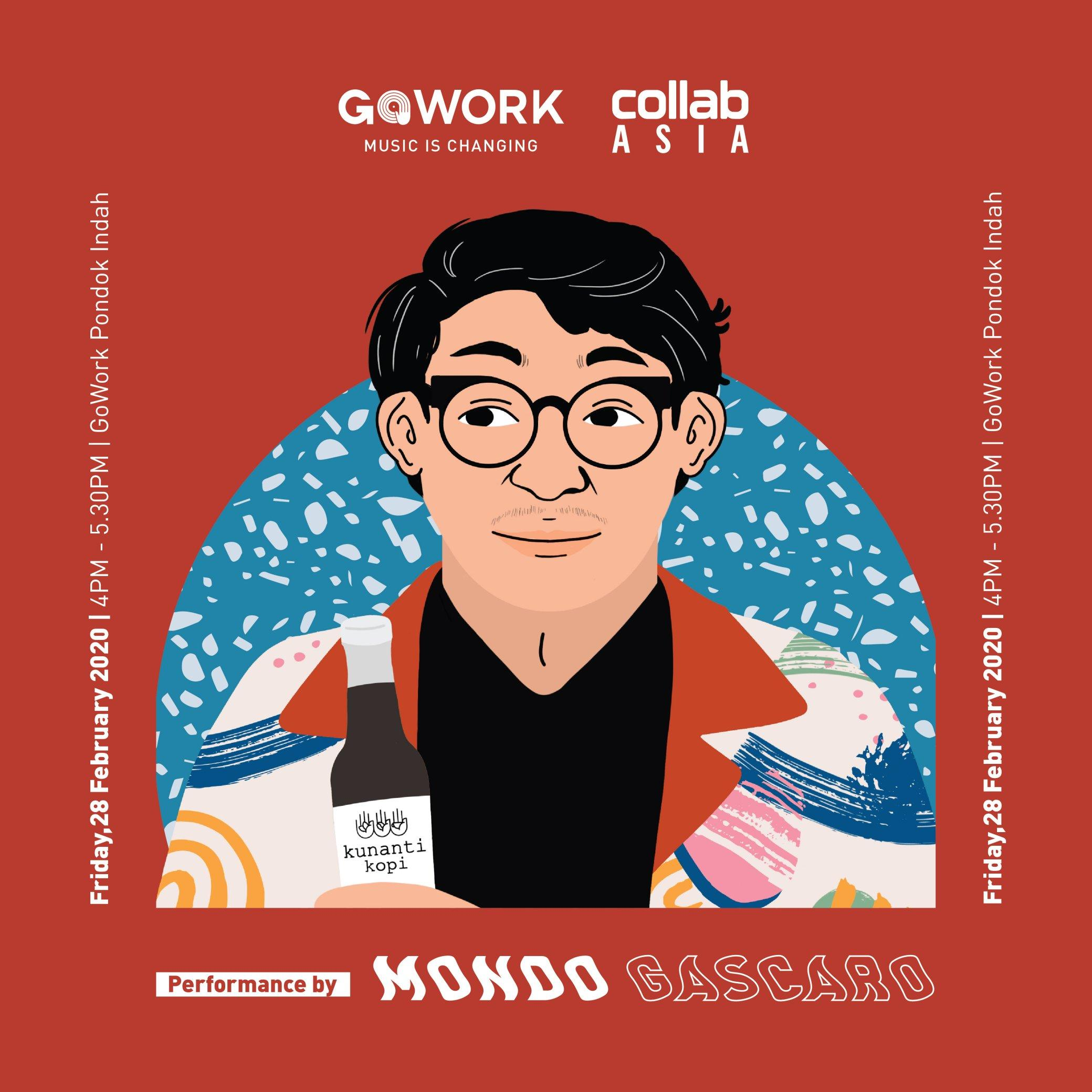 GoWork Happy Hour: Music Is Changing with Mondo Gascaro & Kunanti Kopi!