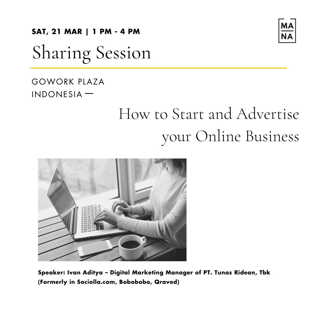 MANA CLASS : How To Start & Advertise Your Online Business