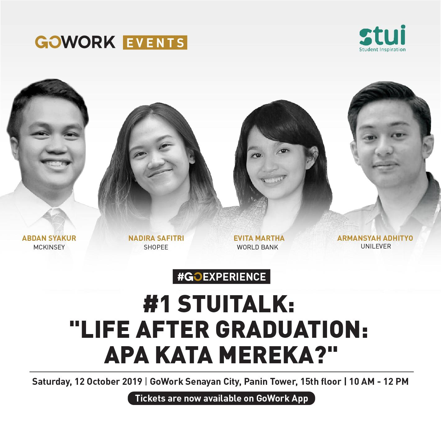 STUI Launching : Life After Graduation