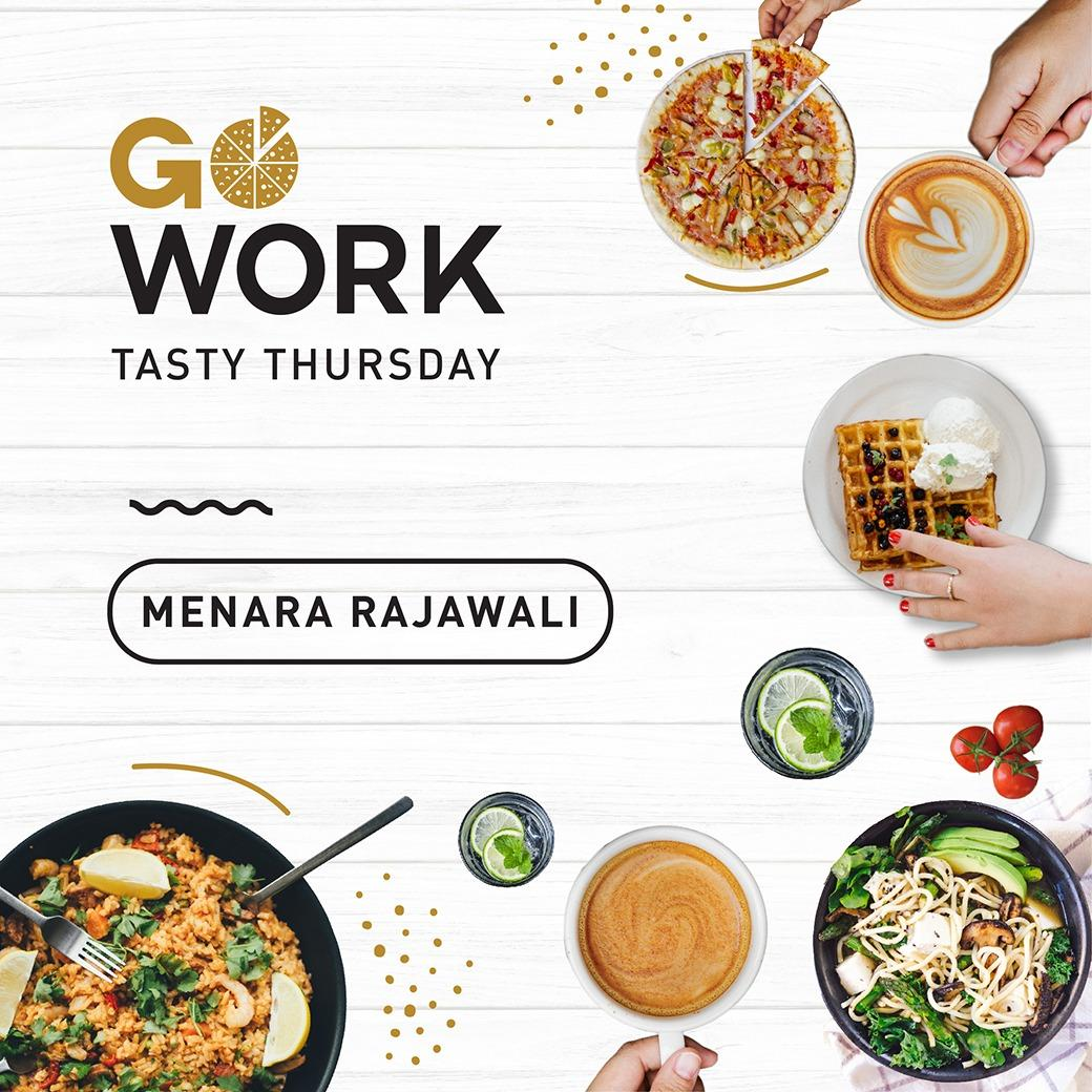 Tasty Thursday at GoWork Menara Rajawali