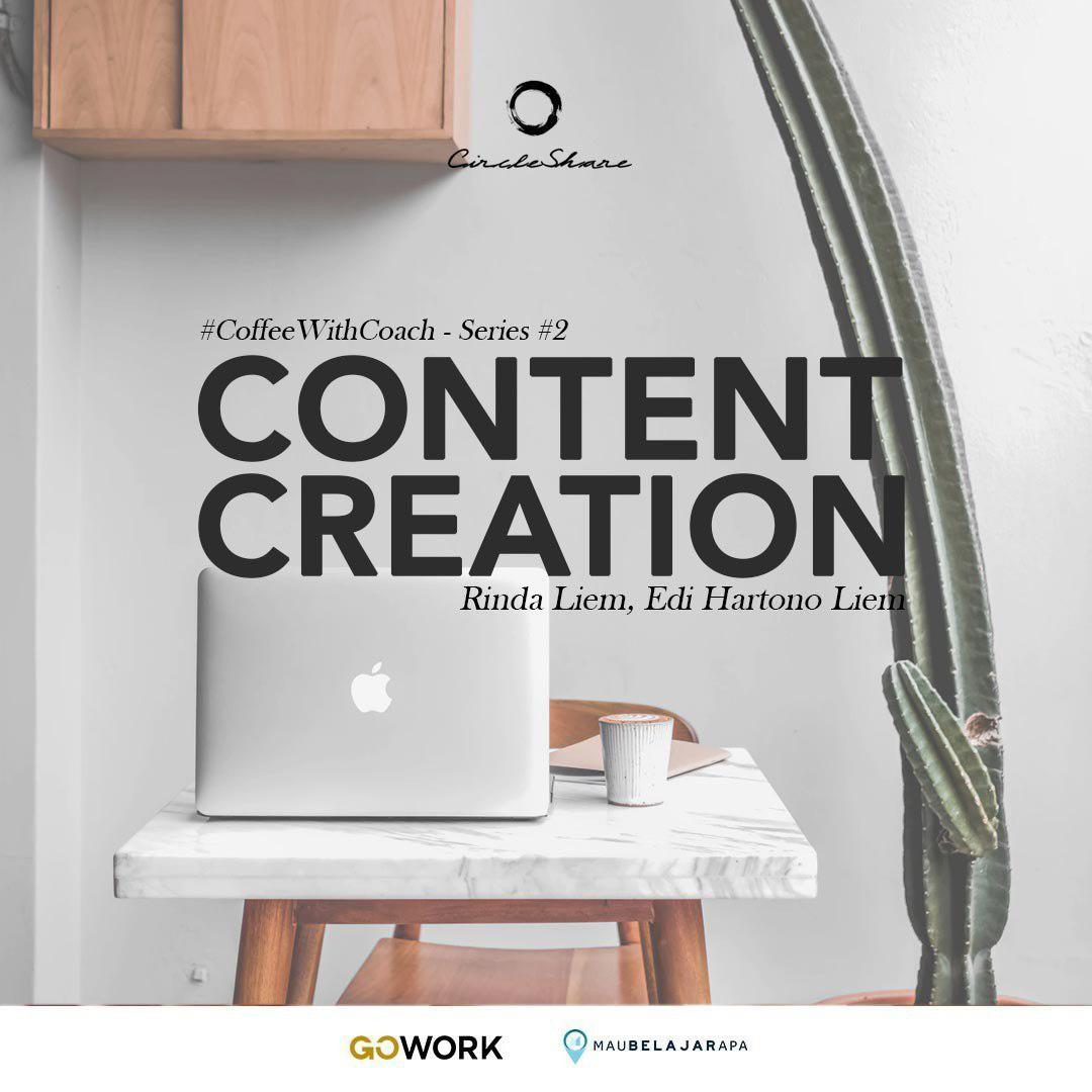 #CoffeeWithCoach Series : Content Creation