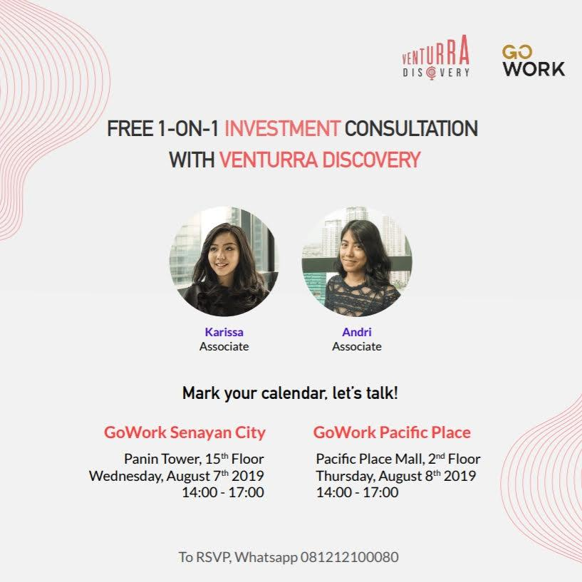 1-On-1 Investment Consultation with Venturra Discovery