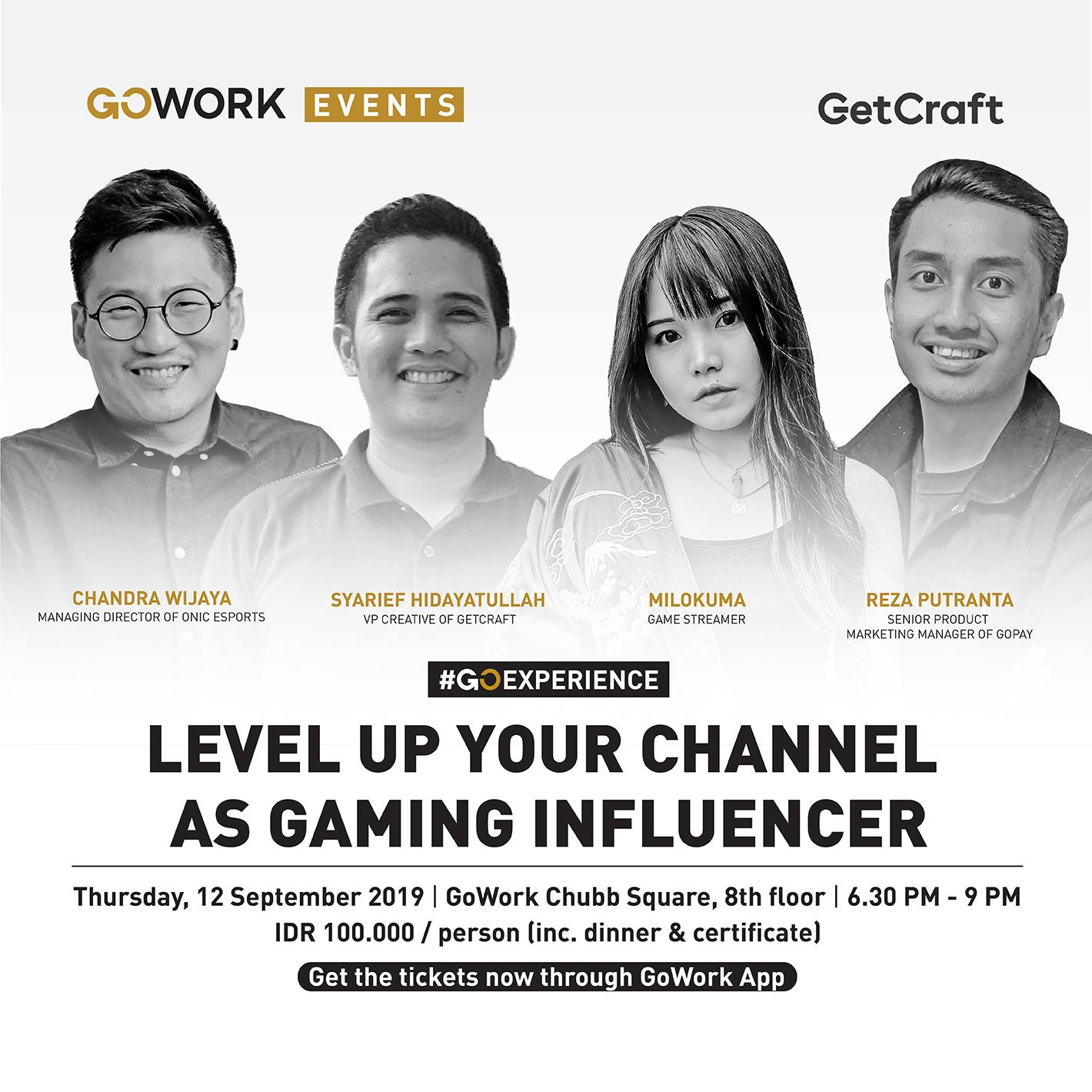 Jakarta Creators Meetup : Level Up Your Channel As Gaming Influencer