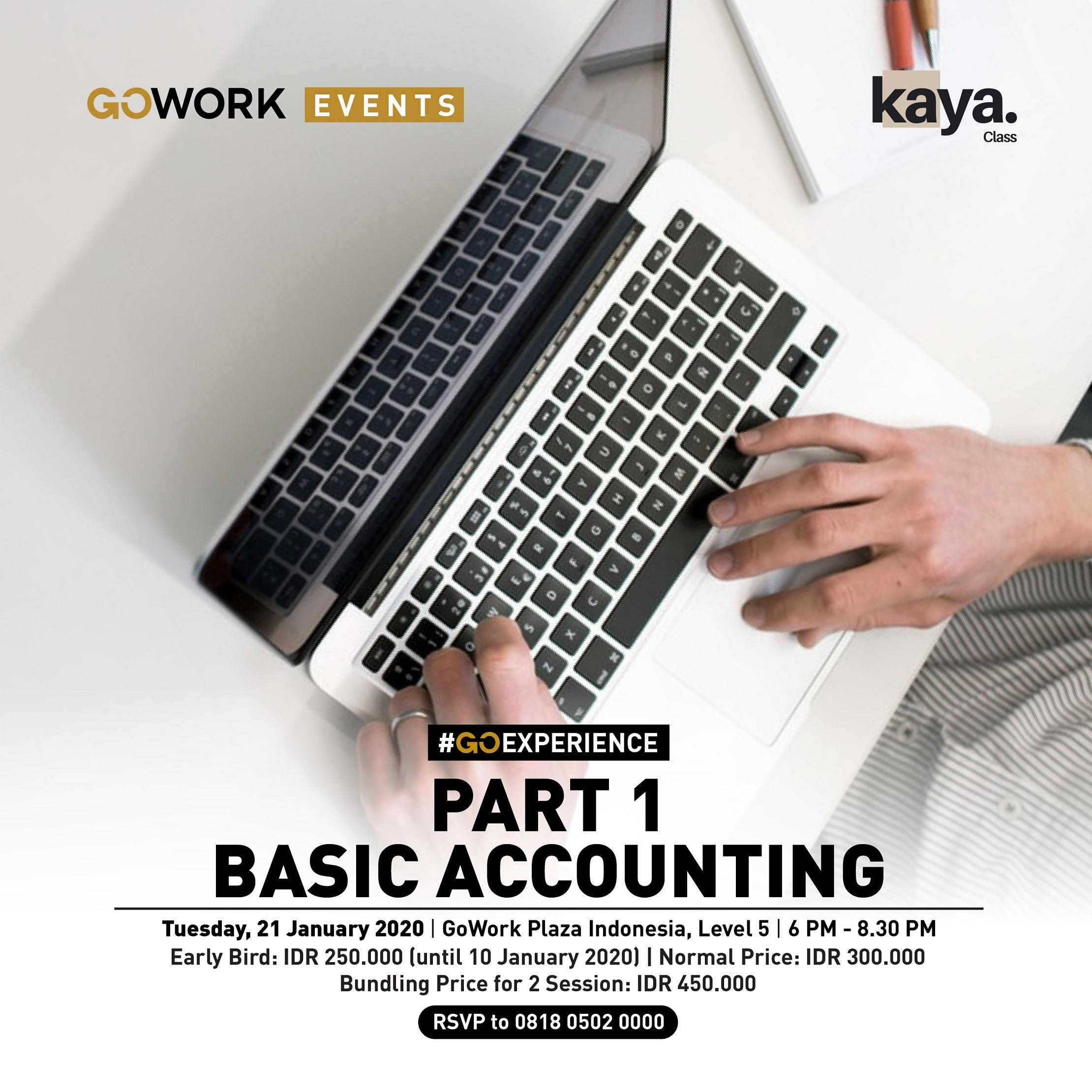 Basic Accounting - Part 1
