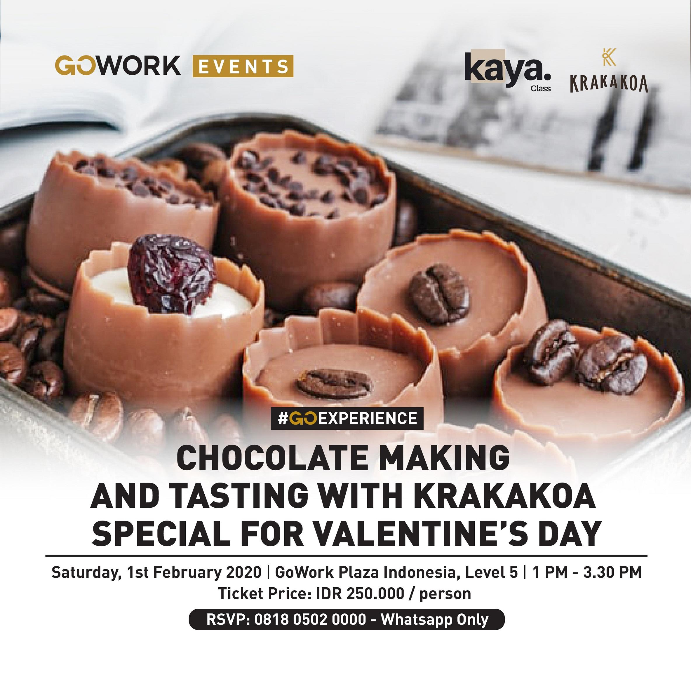Chocolate Making and Tasting with Krakakoa special for Valentine's day