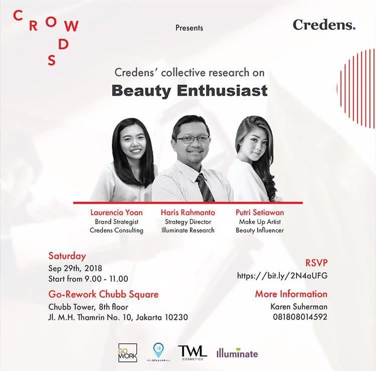 GoWork X Credens : CROWDS 02 Beauty Enthusiast