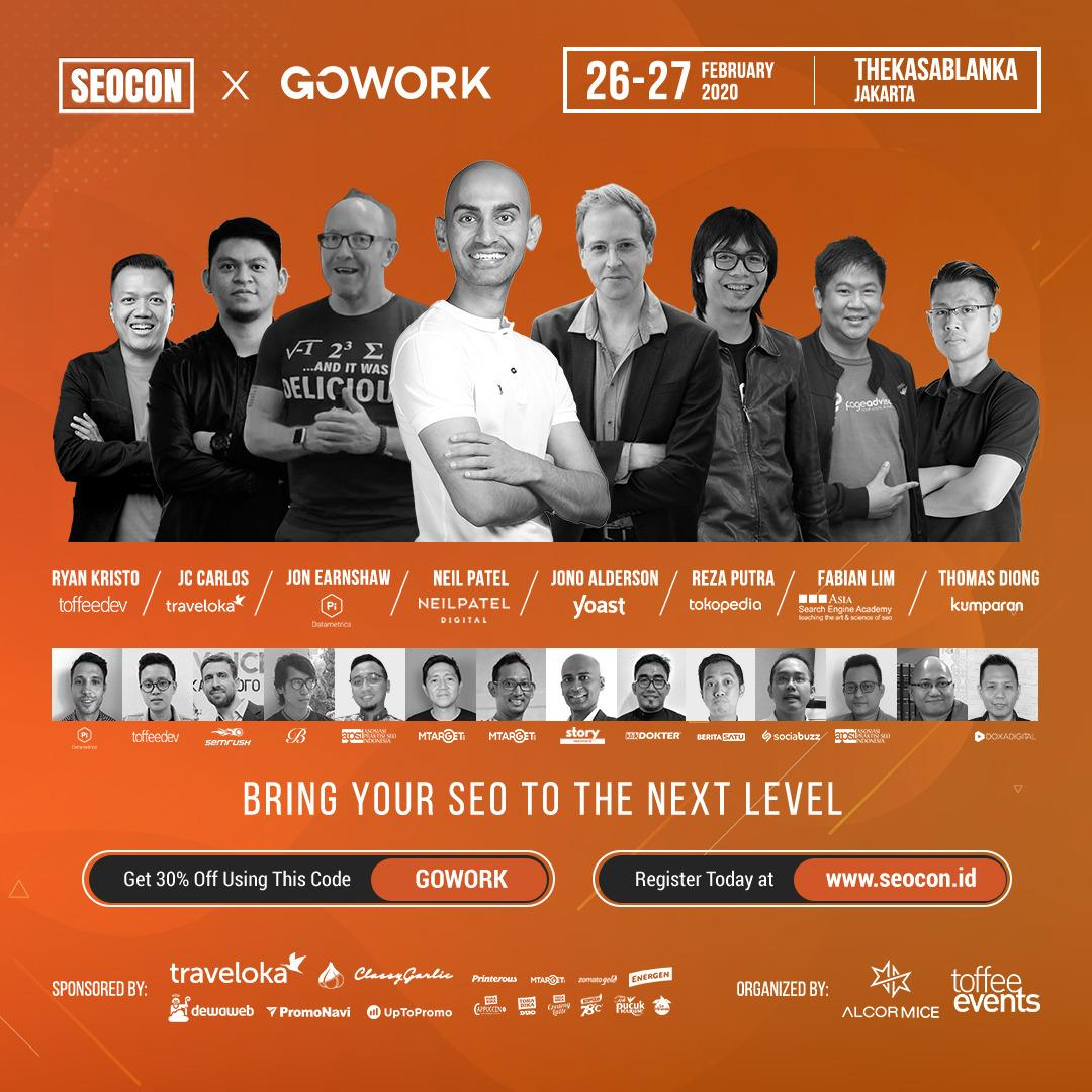 Bring Your SEO  to The Next Level  at SEOCon 2020