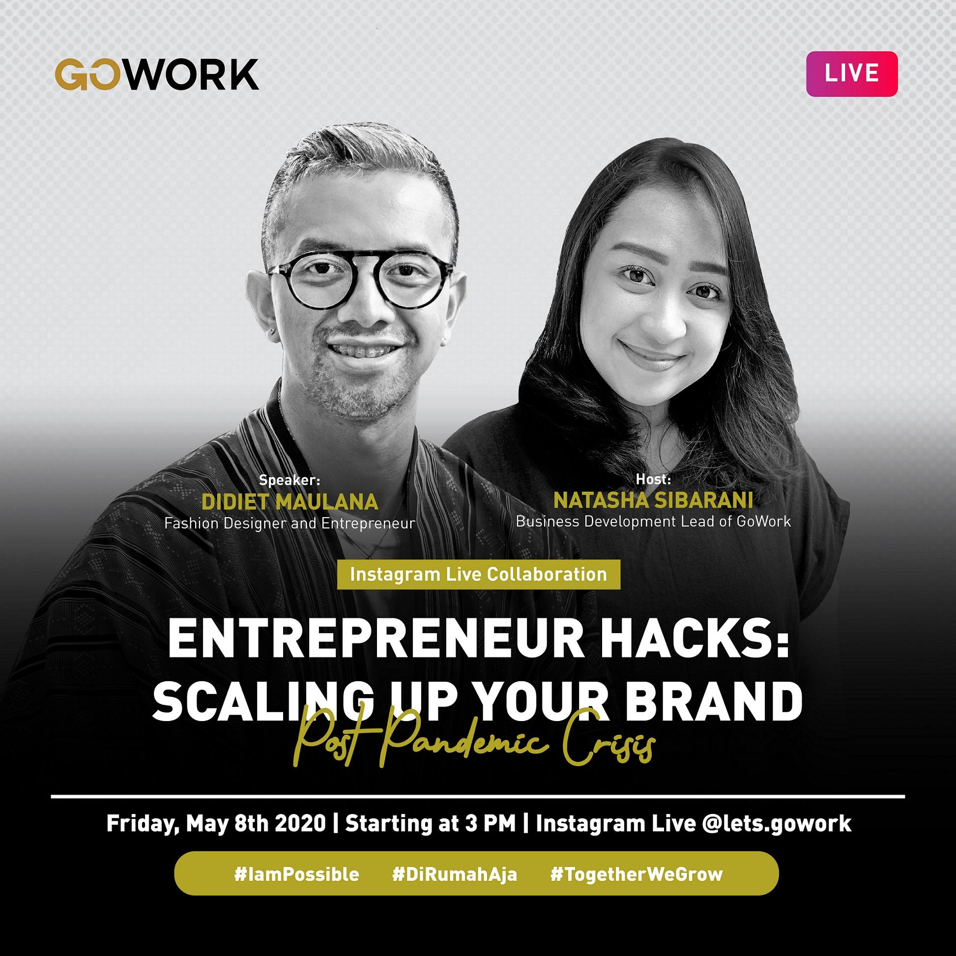 Entrepreneur  Hacks: Scaling Up Your Brand Post Pandemic Crisis