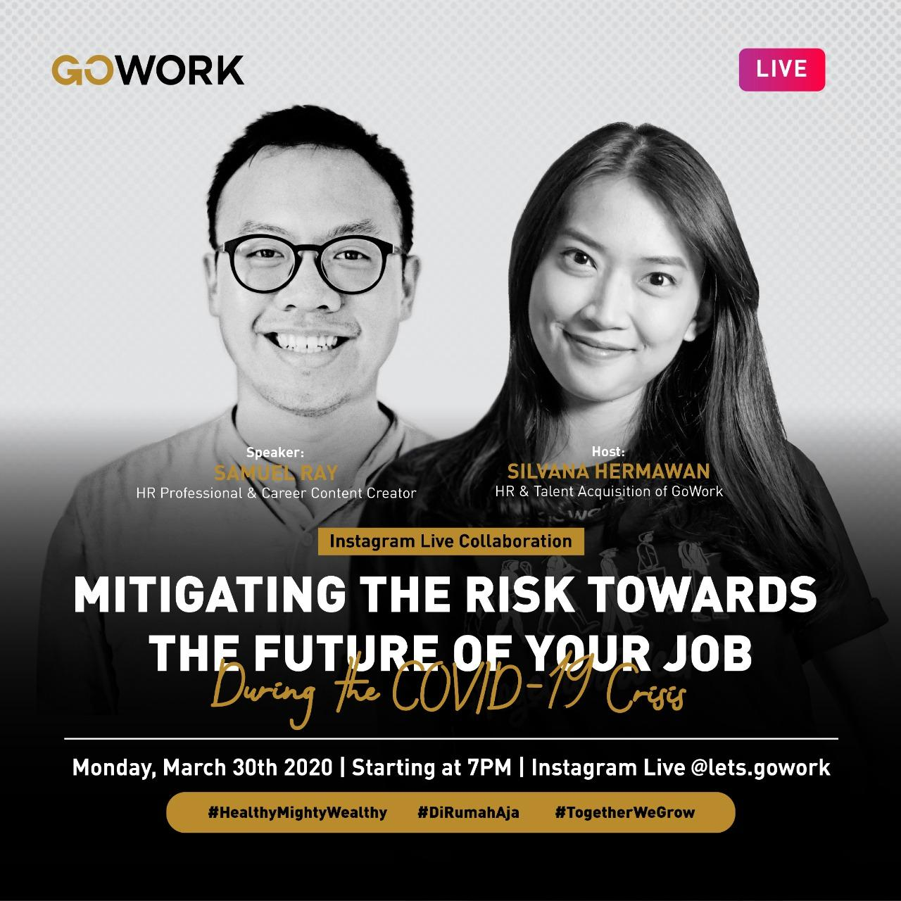 Mitigating The Risk Towards The Future of Your Job During the COVID-19 Crisis