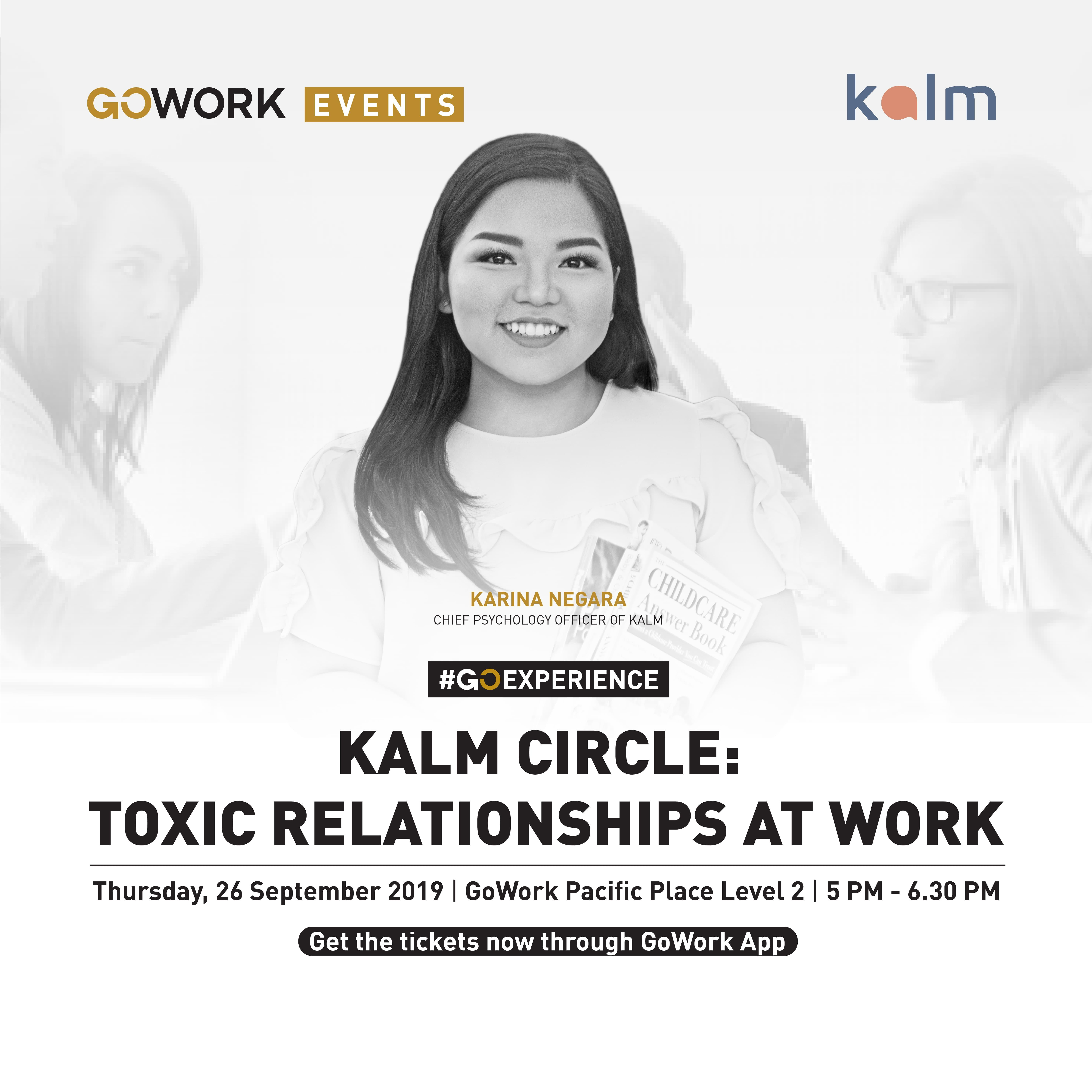 TOXIC RELATIONSHIP AT WORK