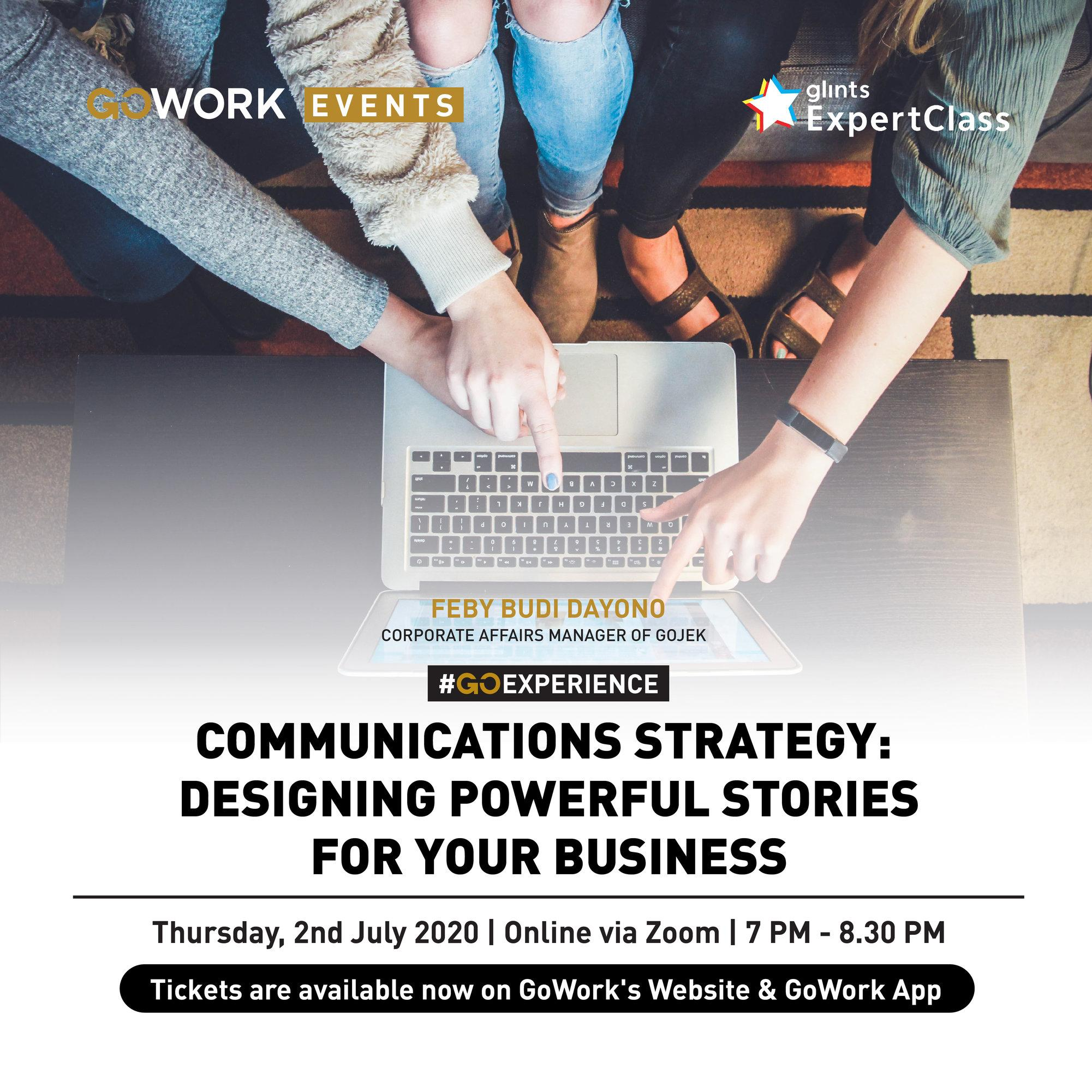 Communications Strategy: Designing Powerful Stories for Your Business