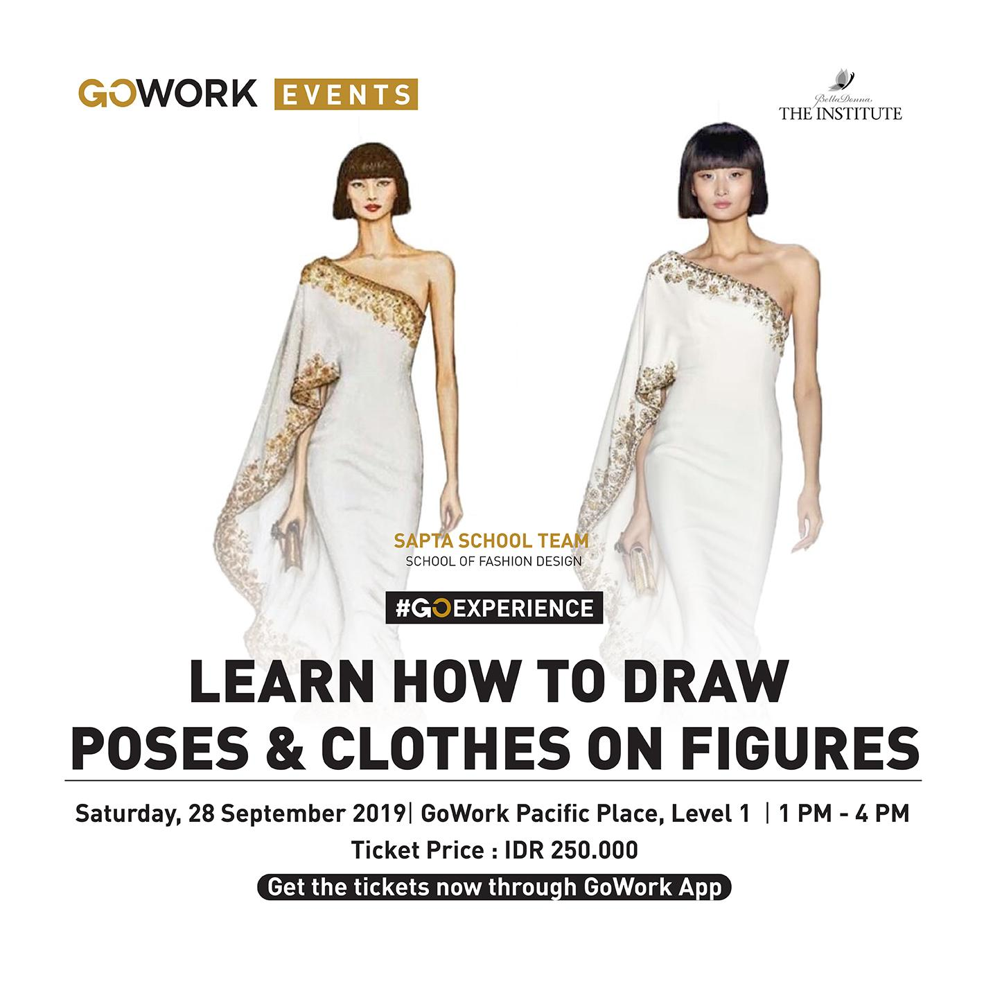 Learn How To Draw Poses & Clothes On Figures