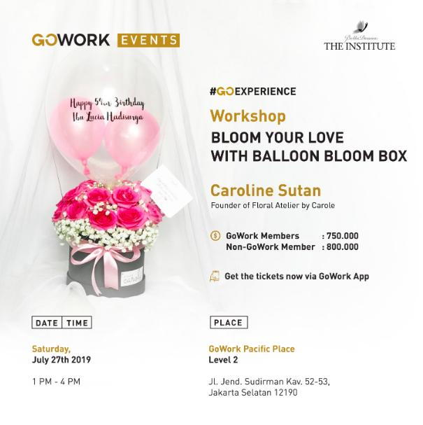 Bloom Your Love With Ballon Bloom Box
