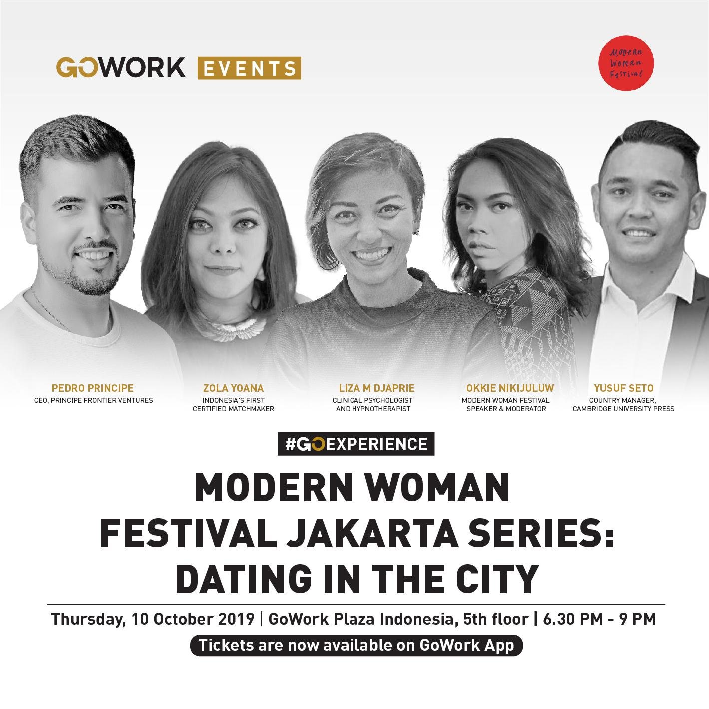 Modern Woman Festival Jakarta Series : Dating in the City