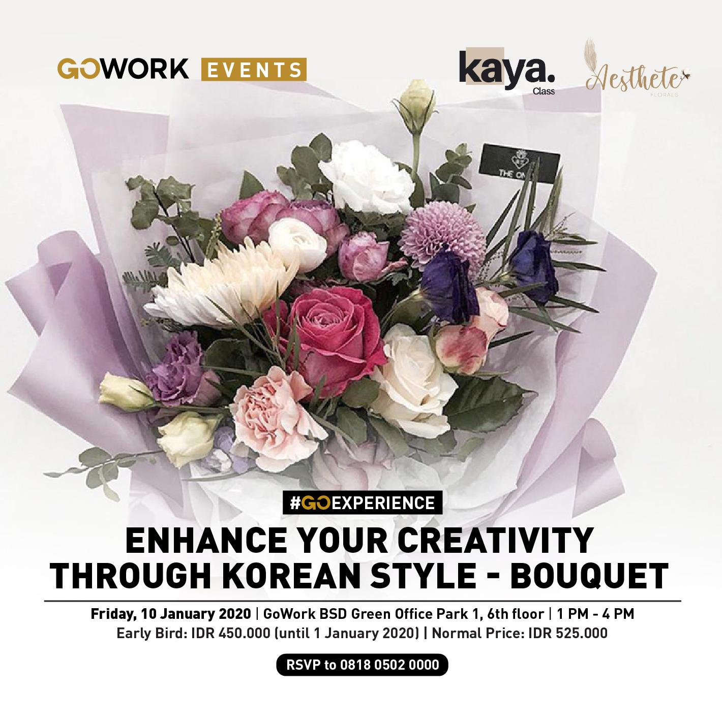 Enhance your Creativity Through Korean Style - Bouquet