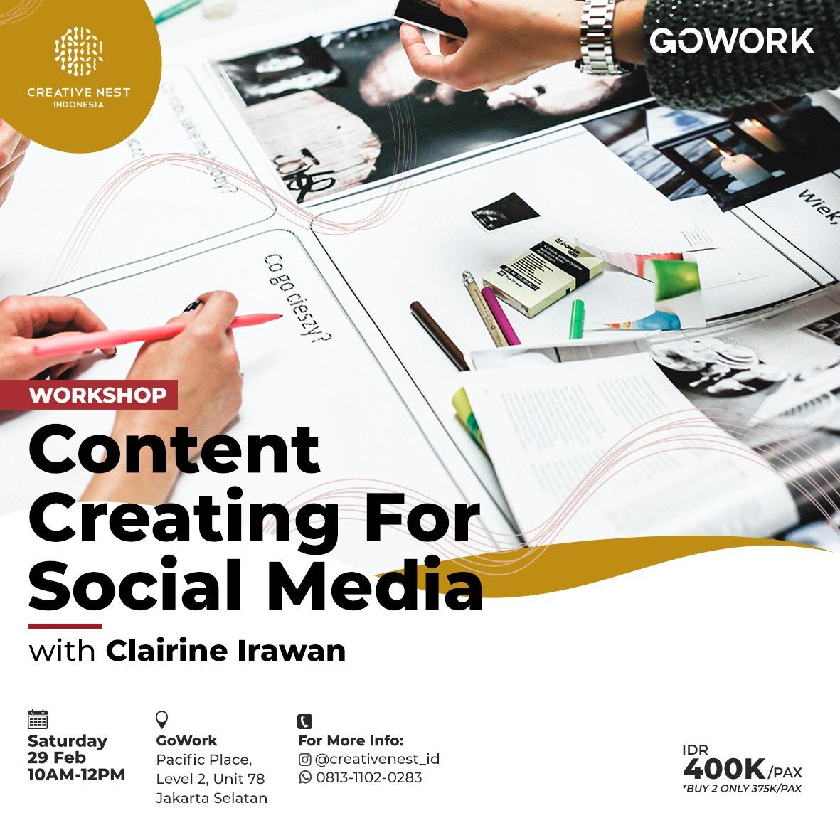 Creative Nest Indonesia : Content Creating for Social Media