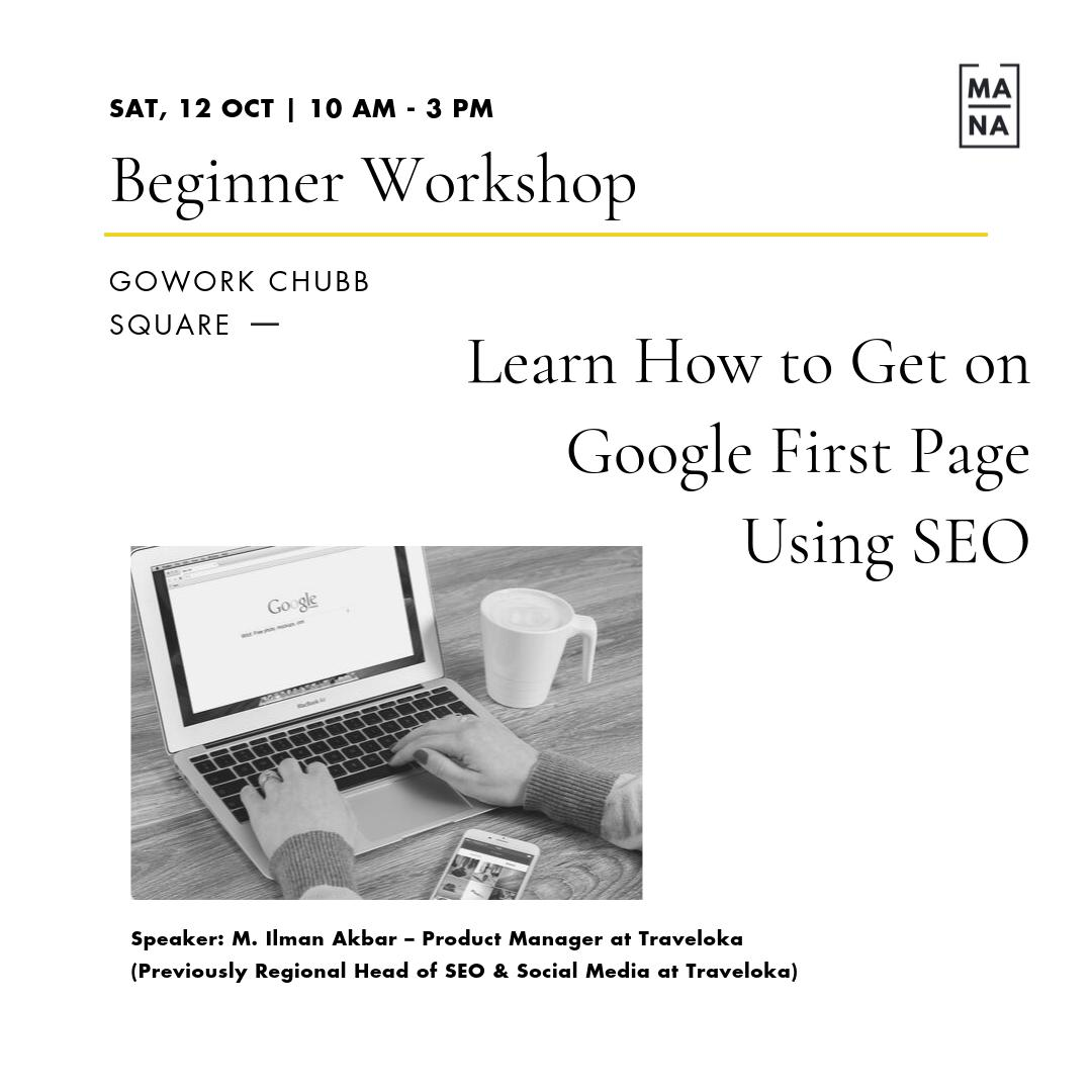 Learn How To Get On Google First Page Using SEO