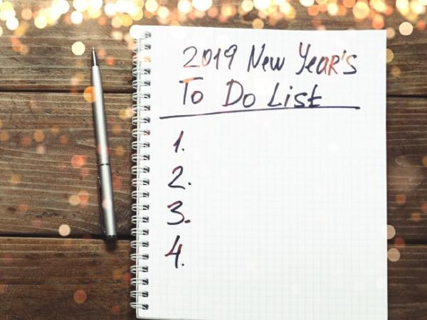 Best New Year resolutions this 2019