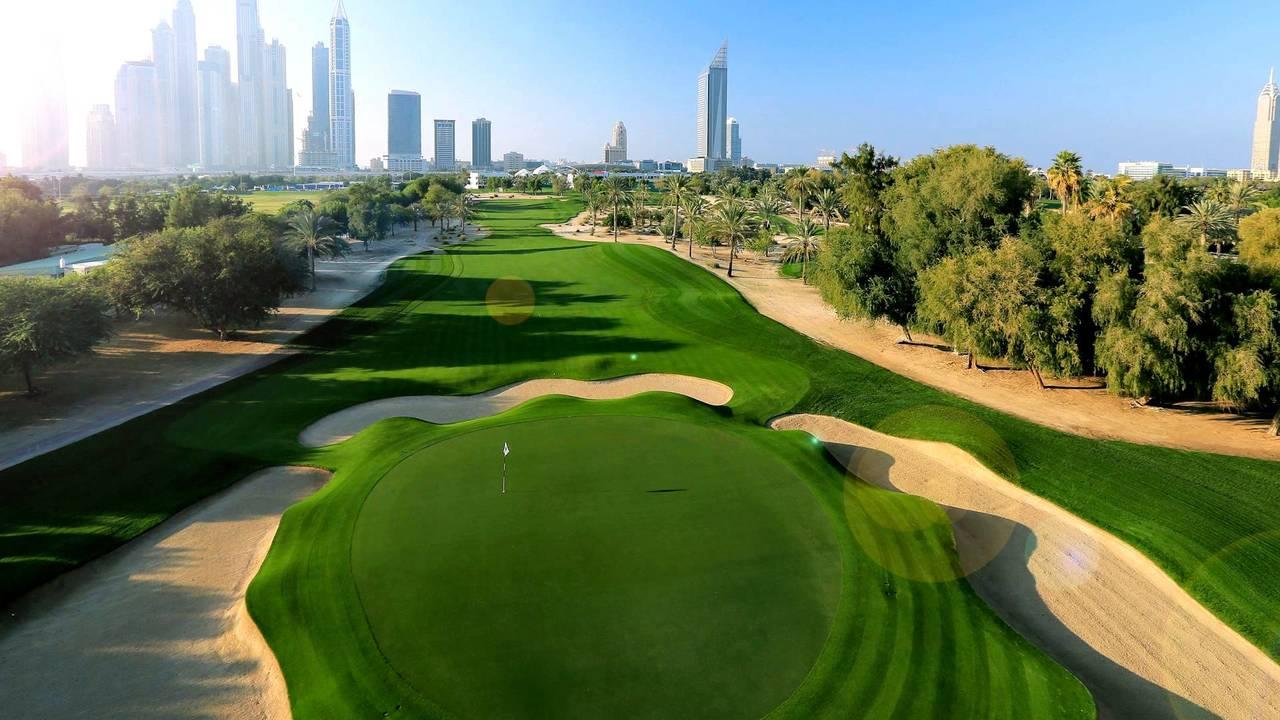 Top 3 best golf courses in Dubai