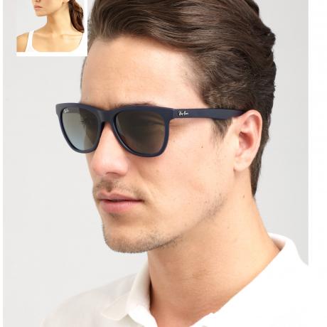 Ray-Ban® Black Jackie Ohh II Oversized Sunglasses