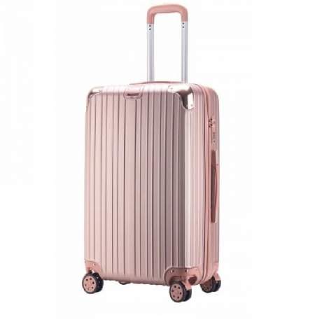 Surelaptop 3316 Universal Wheel Male And Female Large Capacity Trolley Case - Rose Gold L