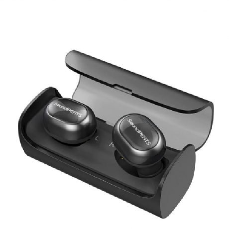 SoundPEATS TWS Bluetooth Wireless Earbuds Mini Invisible HiFi Stereo Wireless Headset Earphone for Iphone Built Mic Charging Box
