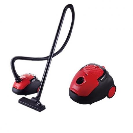 SPANDY LD-615 Vacuum Cleaner - Valentine Red EU Travel Converter