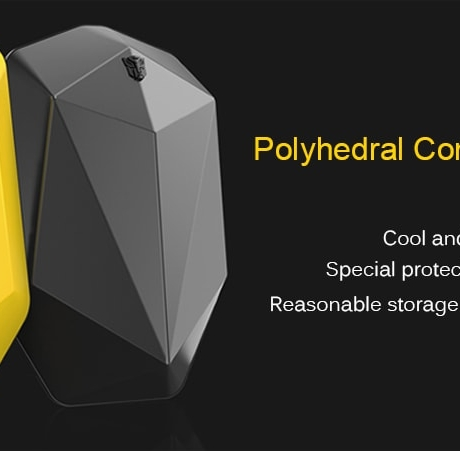 Polyhedron Computer Backpack from Xiaomi youpin