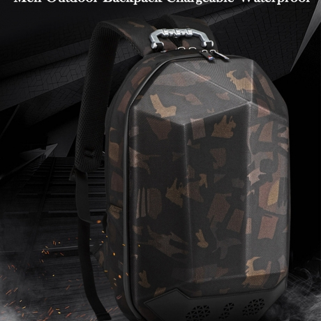 TANGCOOL Men Outdoor Backpack Chargeable Waterproof