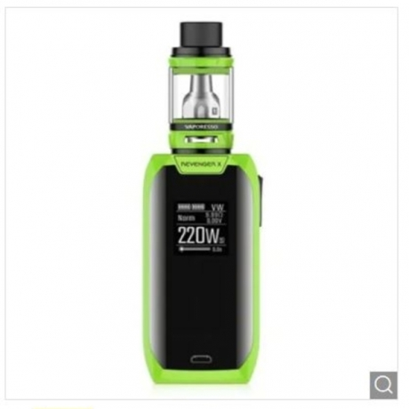 Vaporesso Revenger X 220W TC Kit with NRG Tank - Green