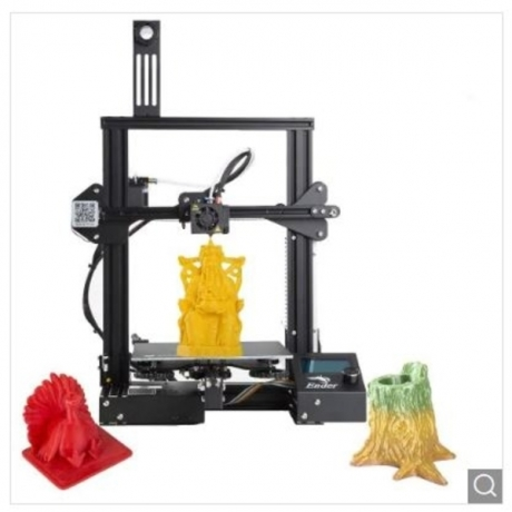 2019 New Version Creality Ender 3 3D Printer Aluminum DIY with Resume Printing for School Use - US warehouse