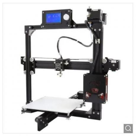 Anet A2 Plus Aluminum Metal 3D DIY Printer - Black US Plug