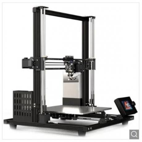 Anet A8 Plus Aluminum Frame 3D Printer - Black EU Plug